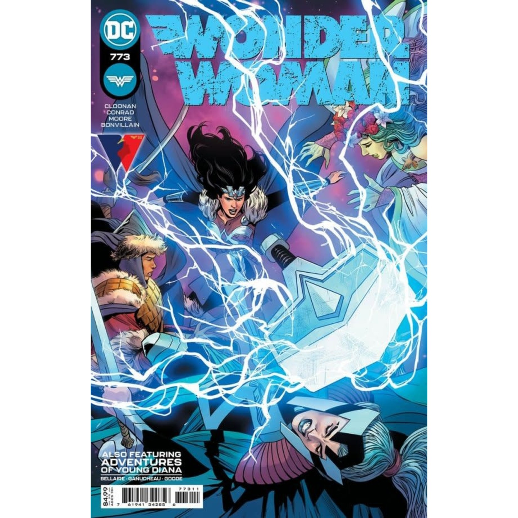 DC Comics WONDER WOMAN #773 CVR A TRAVIS MOORE