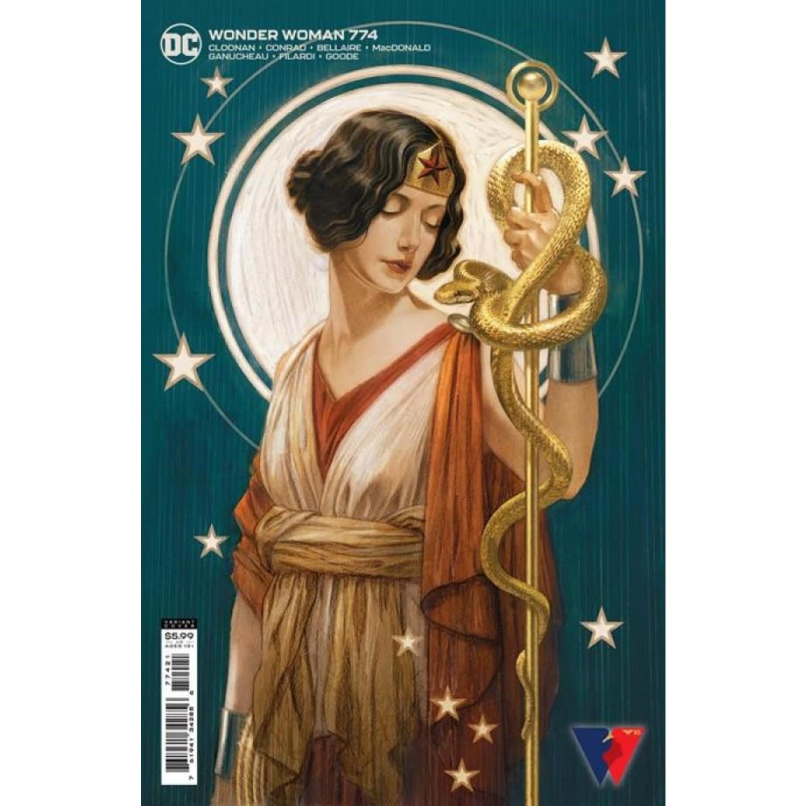 DC Comics Wonder Woman #774 Card Stock Variant Cover