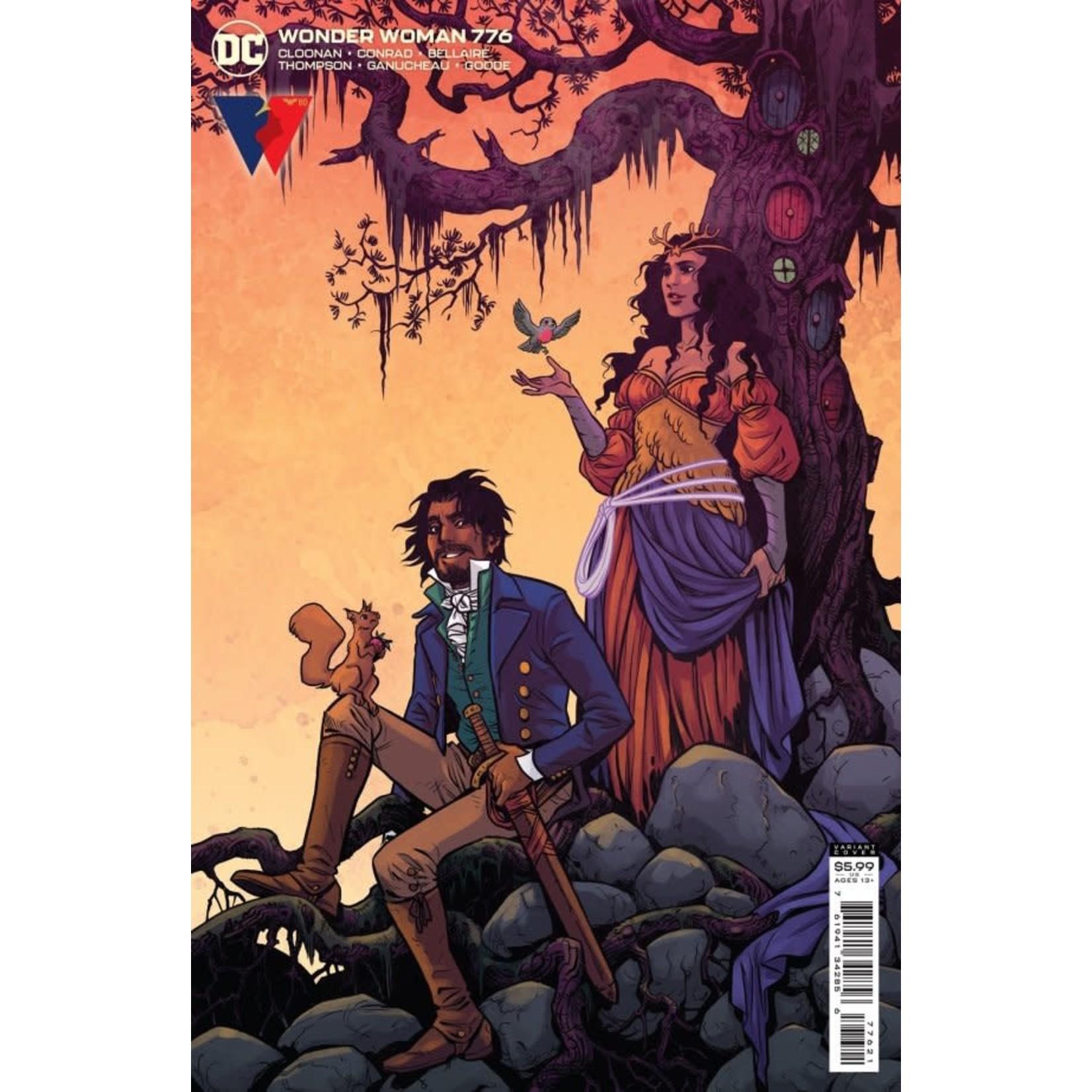 DC Comics Wonder Woman #776 Card Stock Variant Cover
