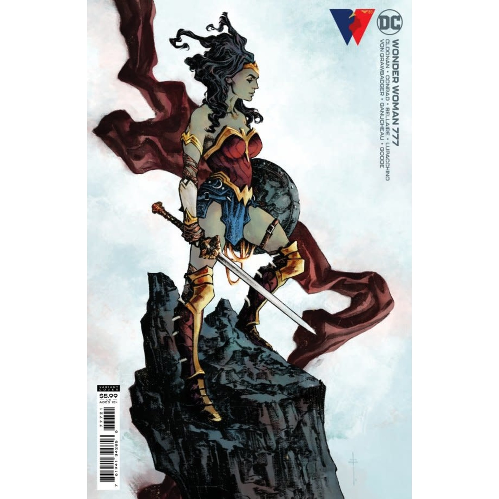 DC Comics Wonder Woman #777 Cover B Fiumara Card Stock Variant