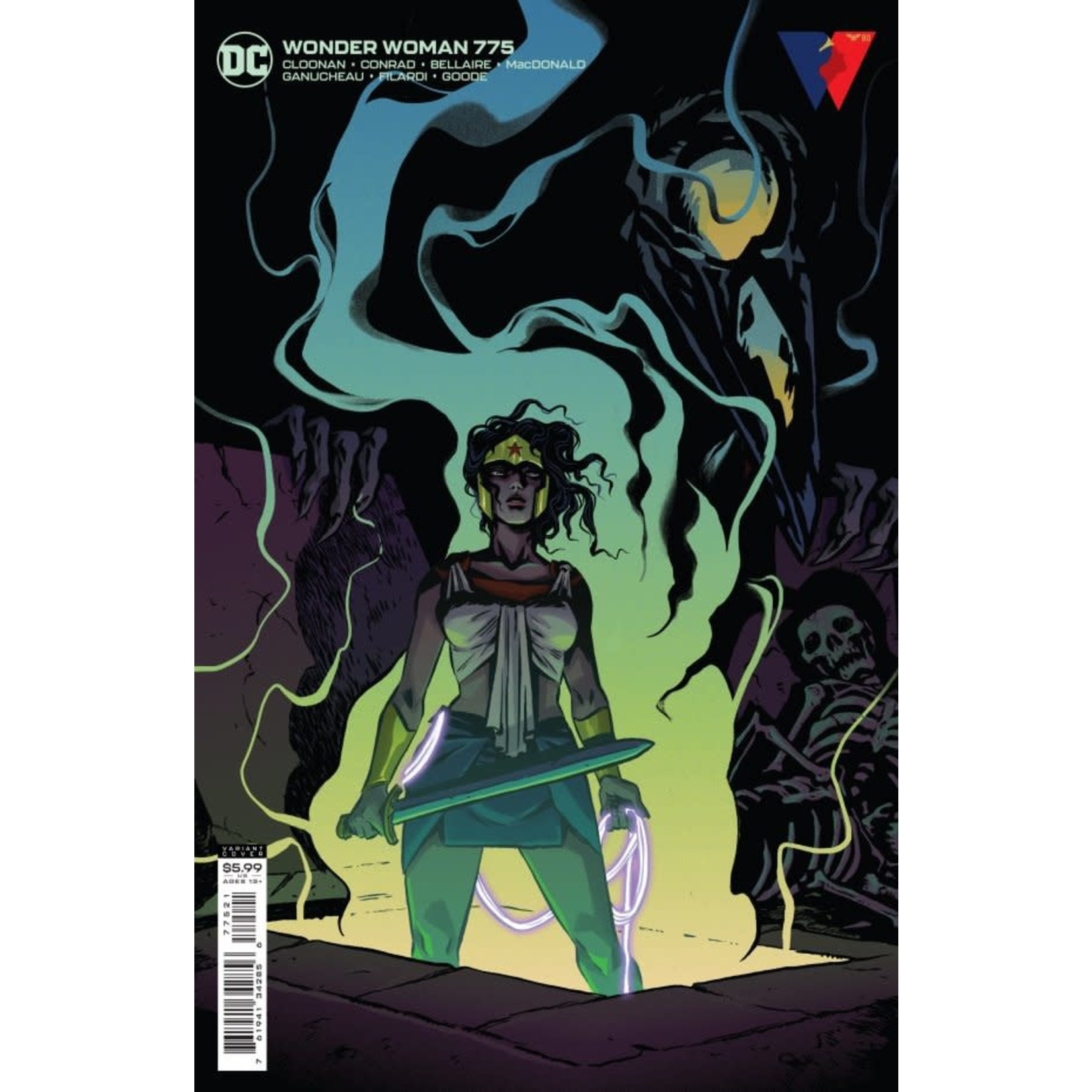 DC Comics Wonder Woman #775 Card Stock Variant Cover