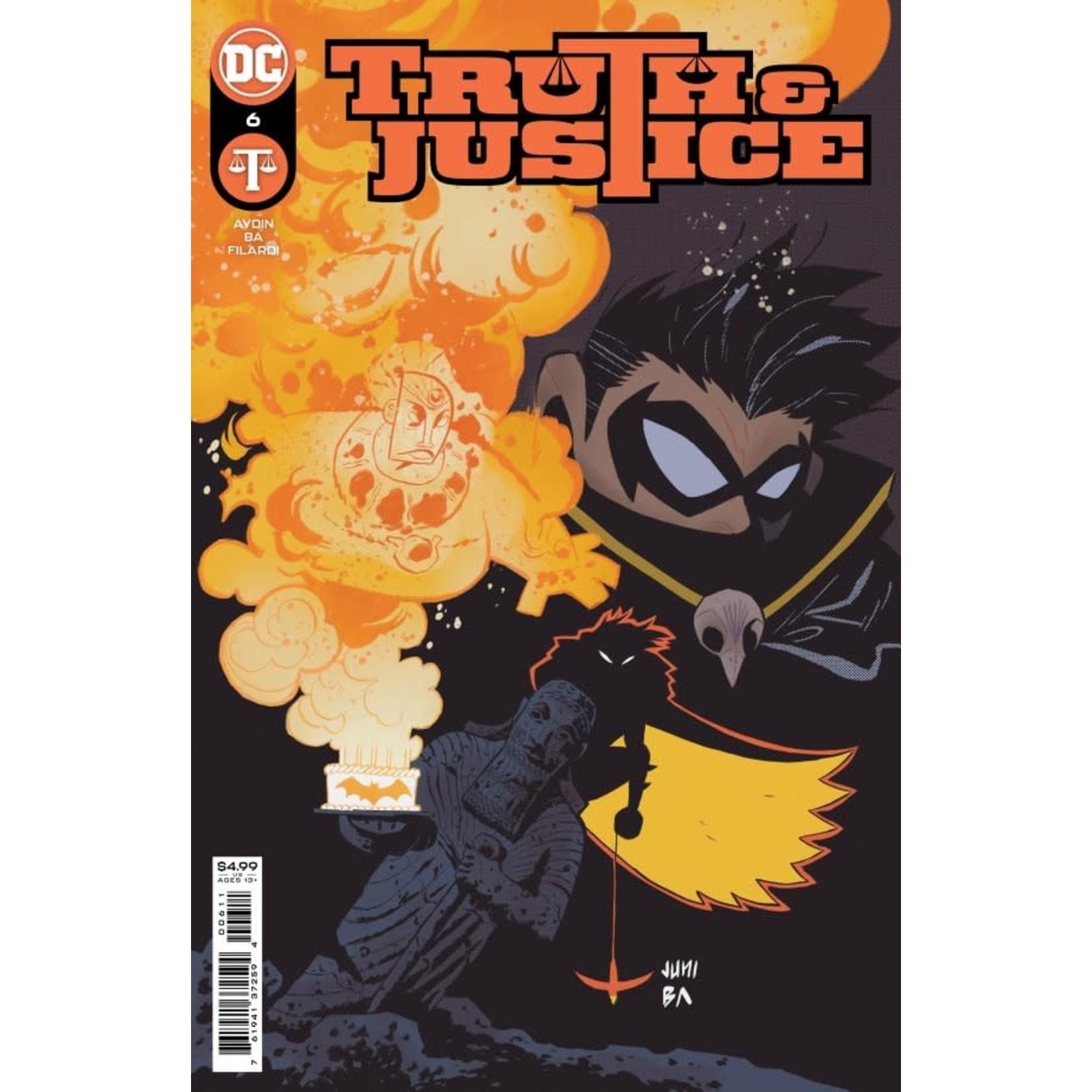 DC Comics TRUTH & JUSTICE #6