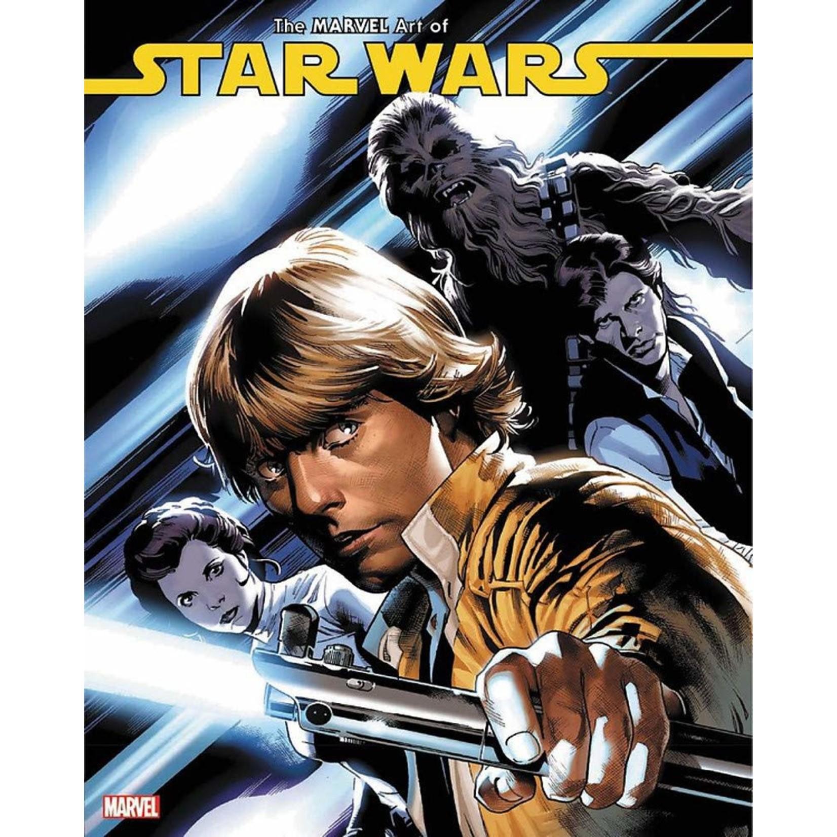 The Marvel Art Of Star Wars