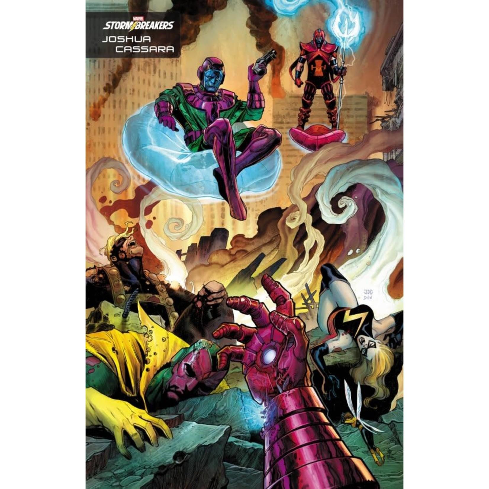 Kang the Conqueror #1 Cassara Stormbreakers Variant