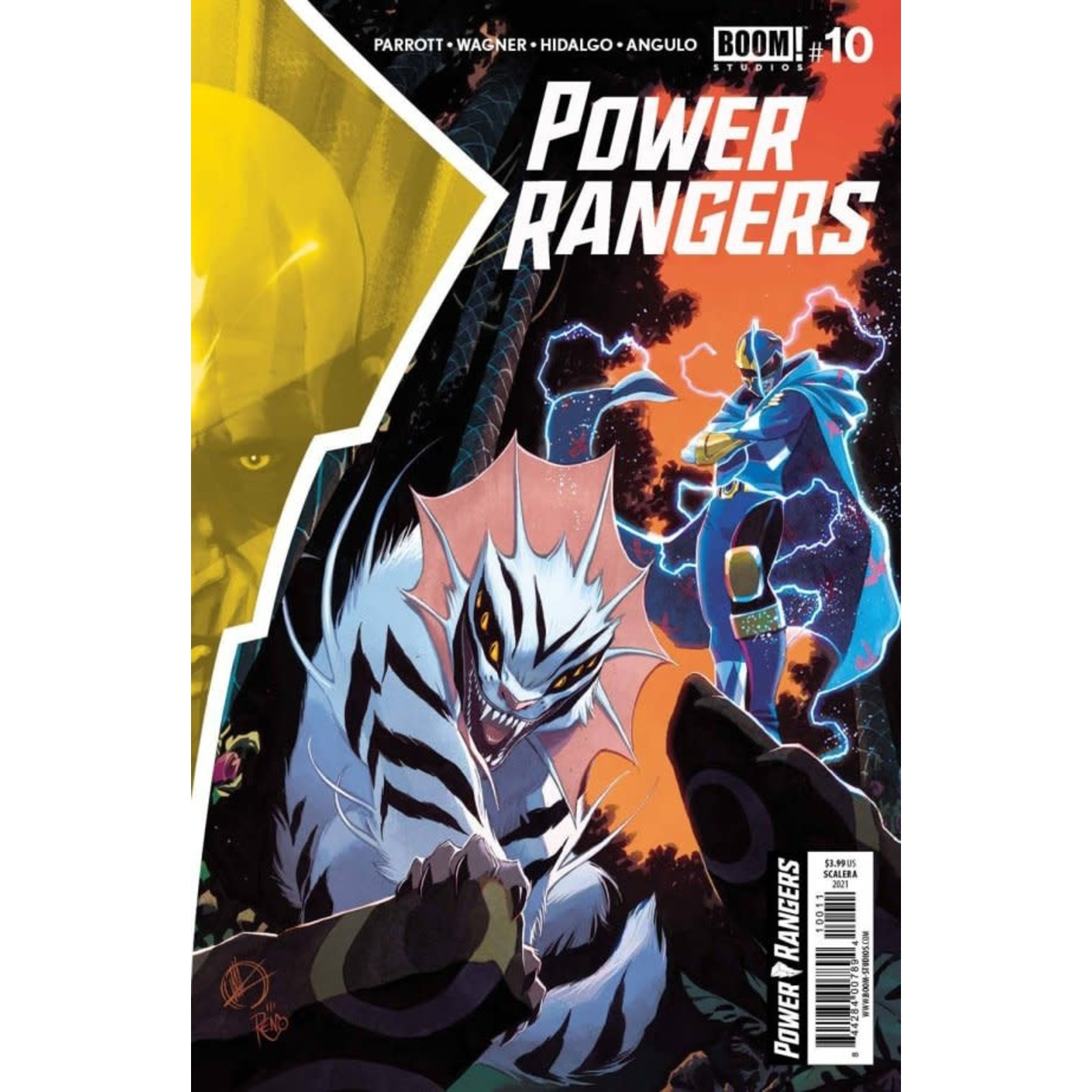 Boom Power Rangers #10