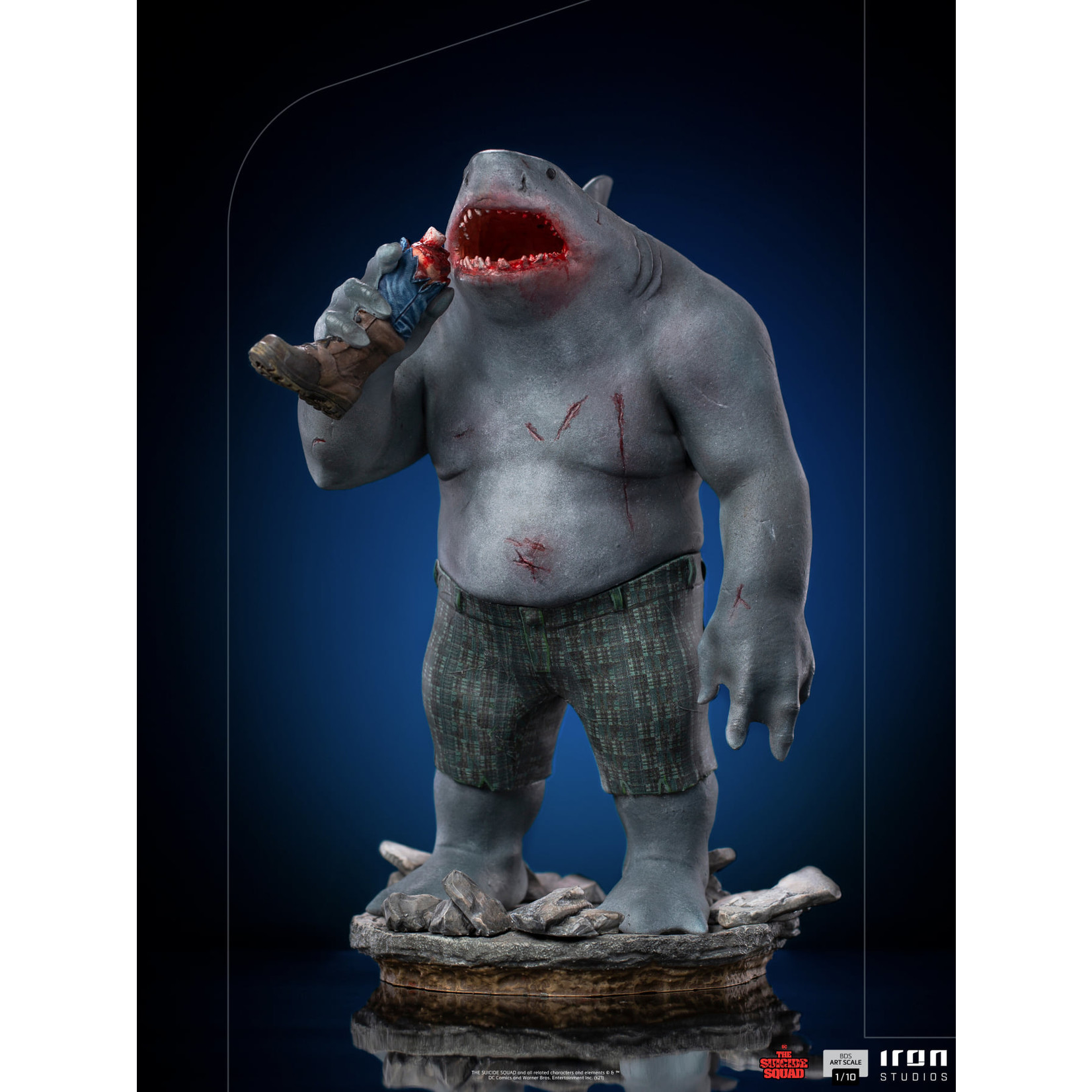Iron Studios [Preorder] Iron Studios The Suicide Squad - King Shark  BDS Art Scale 1/10