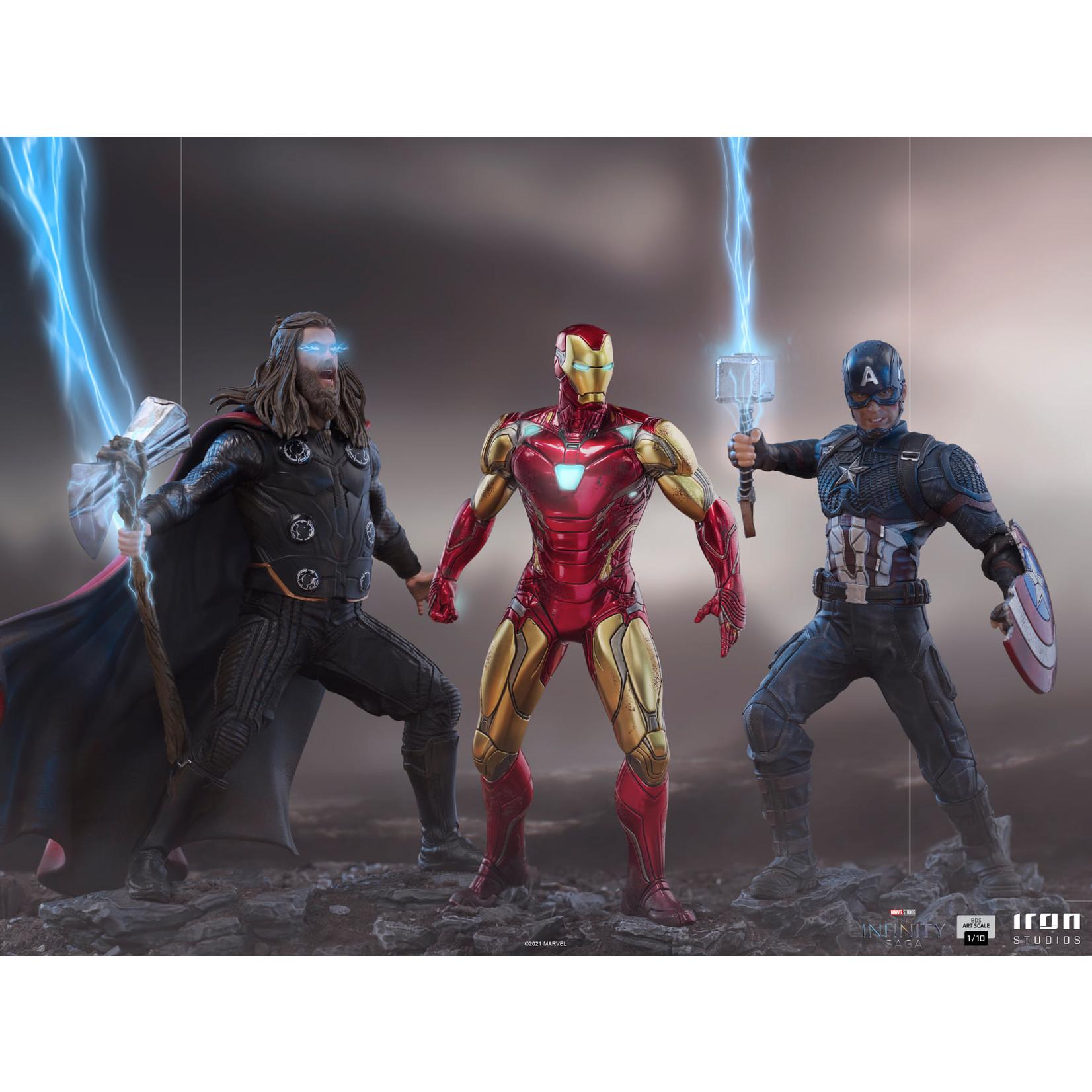 Iron Studios [Preorder] Iron Studios Iron Man Ultimate BDS Art Scale 1/10 - The Infinity Saga