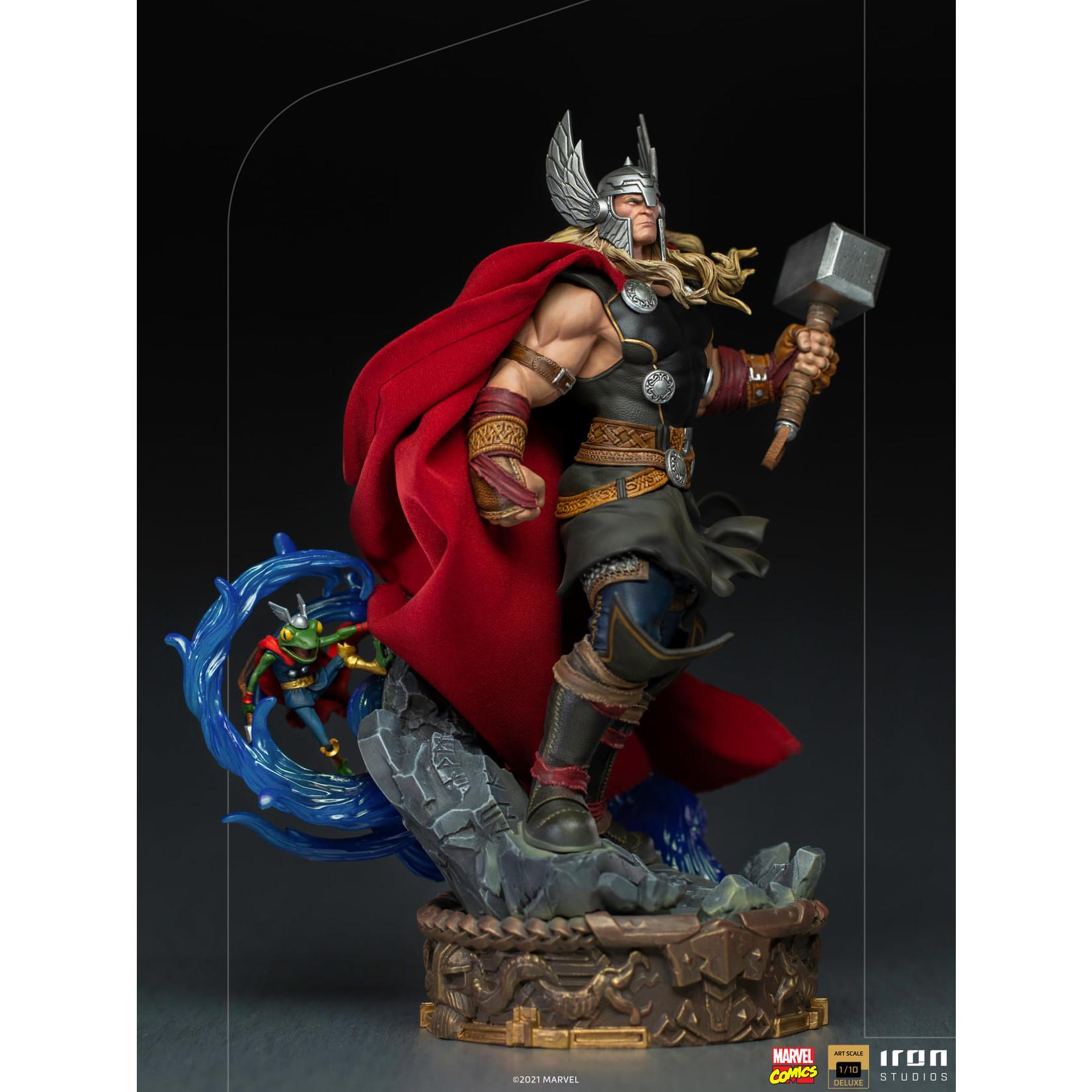 Iron Studios [Preorder] Iron Studios Thor Unleashed Deluxe - Art Scale 1/10 - Marvel Comics