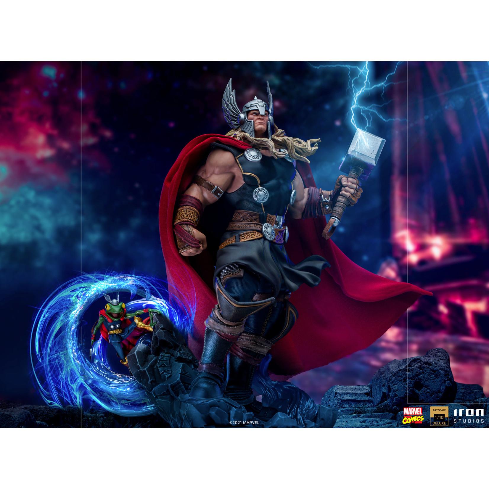 Iron Studios [Precommande] Iron Studios Thor Unleashed Deluxe - Art Scale 1/10 - Marvel Comics