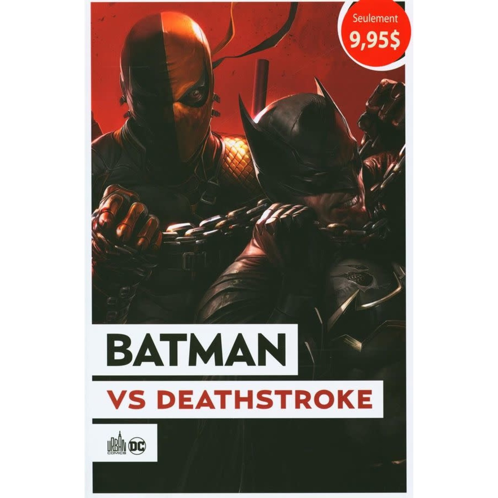 Urban Comics Urban OP 2021 #2 : Batman vs Deathstroke