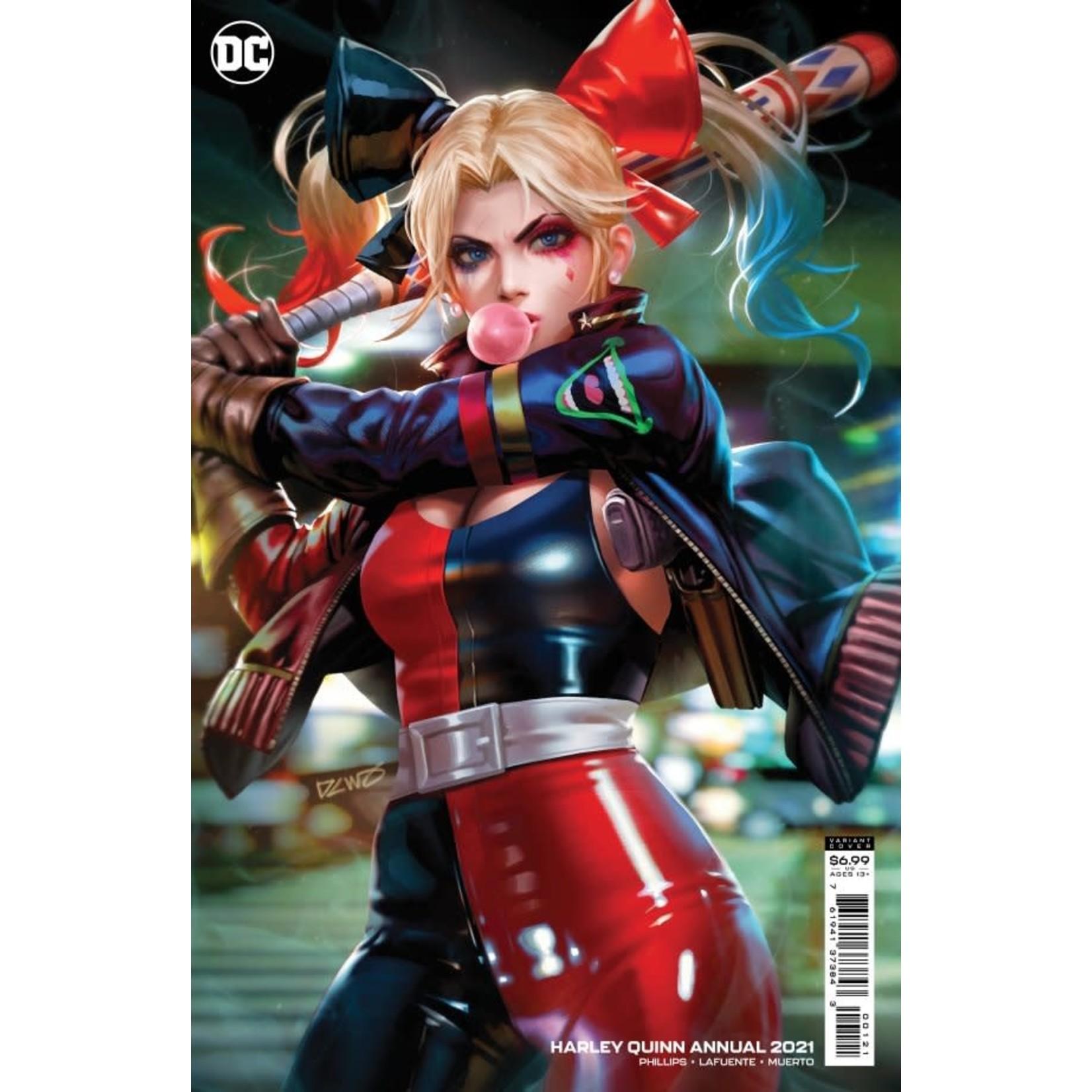DC Comics Harley Quinn 2021 Annual Derrick Chew Card Stock Variant
