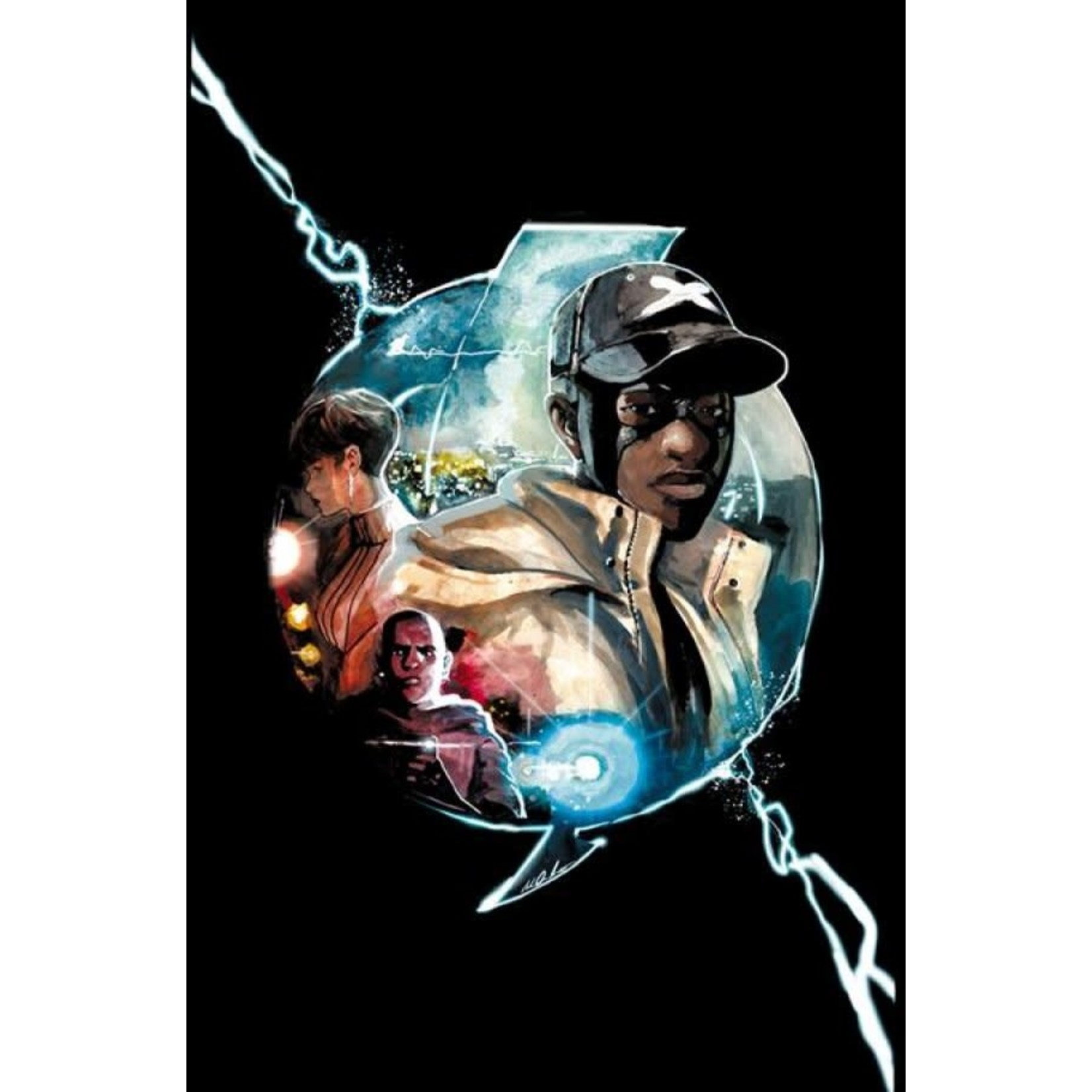 DC Comics Static: Season One #3 Var