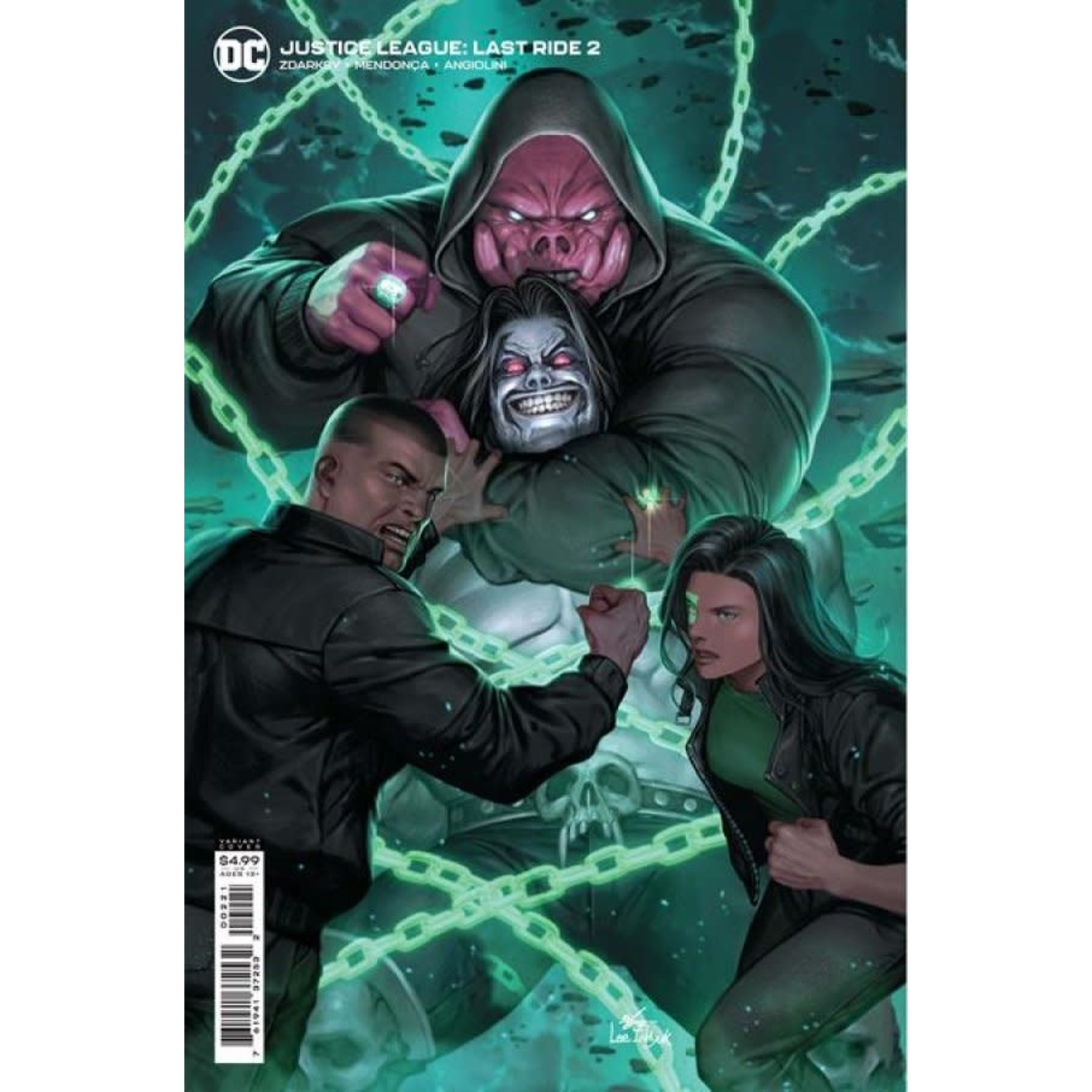 DC Comics Justice League: Last Ride #2 Card Stock Variant Cover