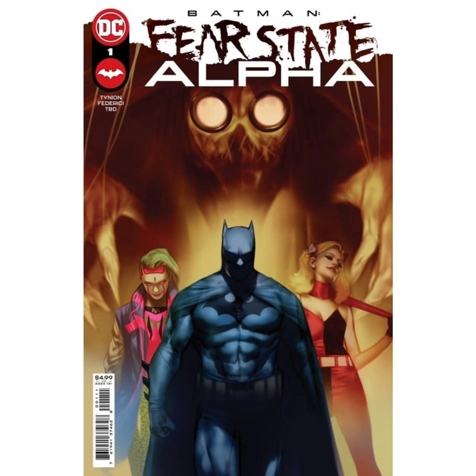 DC Comics Batman: Fear State Alpha #1
