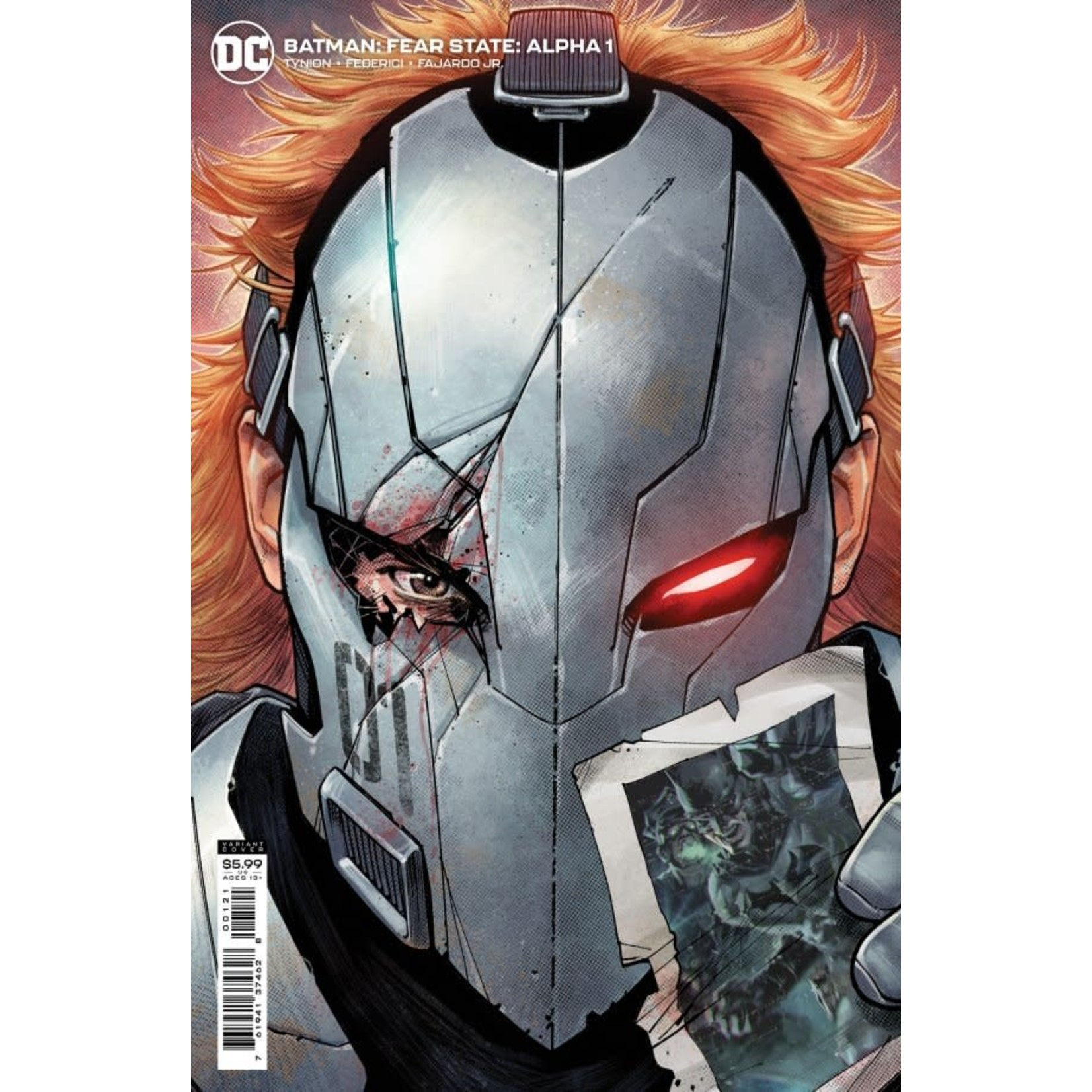 DC Comics Batman: Fear State Alpha #1 Cover B Teague Card Stock Variant