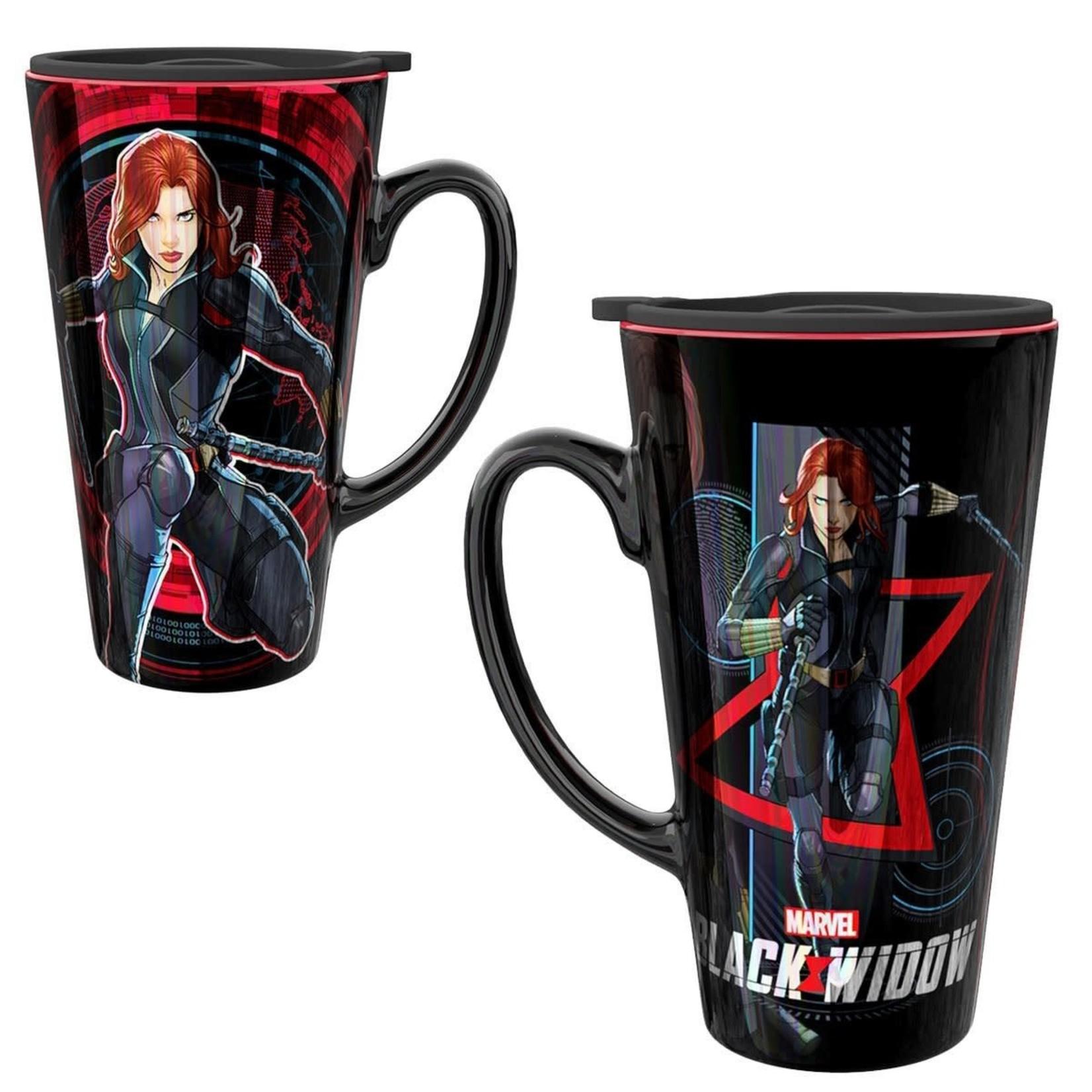 monogram Black Widow 15 oz. Travel Mug