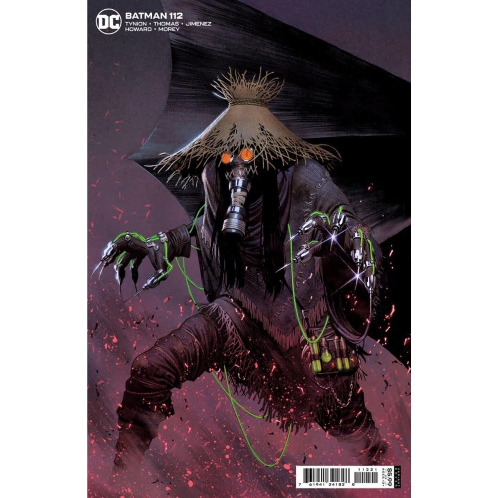 DC Comics Batman #112 Cover B Jorge Molina Card Stock Variant