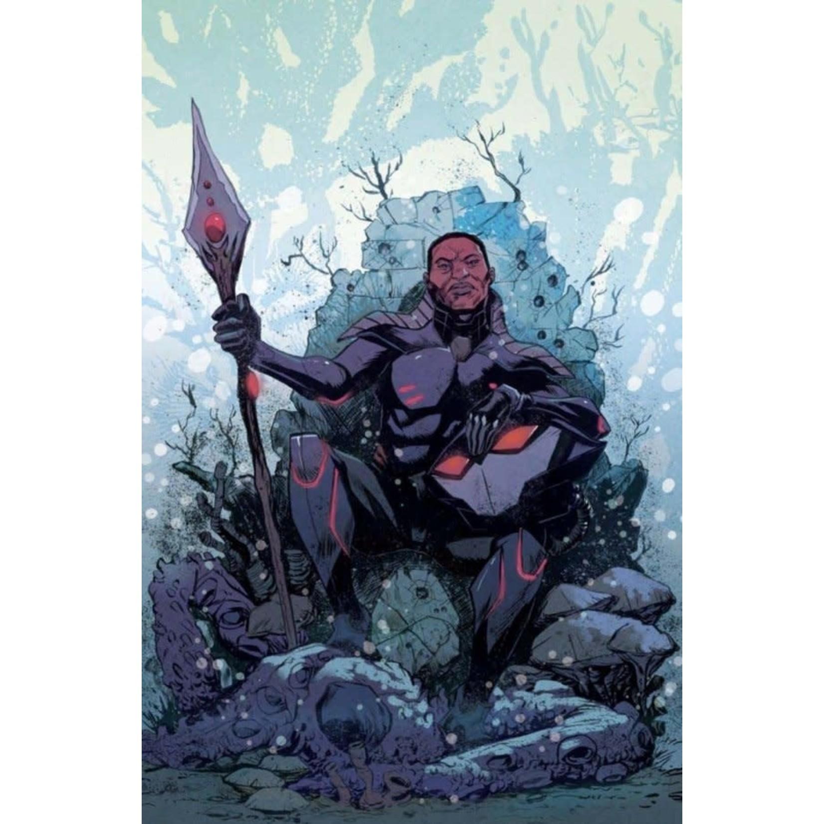 DC Comics Black Manta #1 Cover B Sanford Greene Card Stock Variant