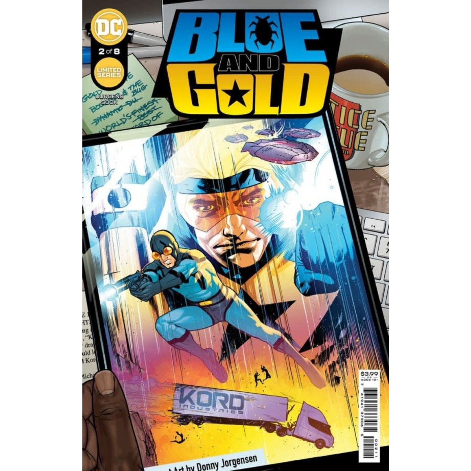 DC Comics Blue & Gold #2