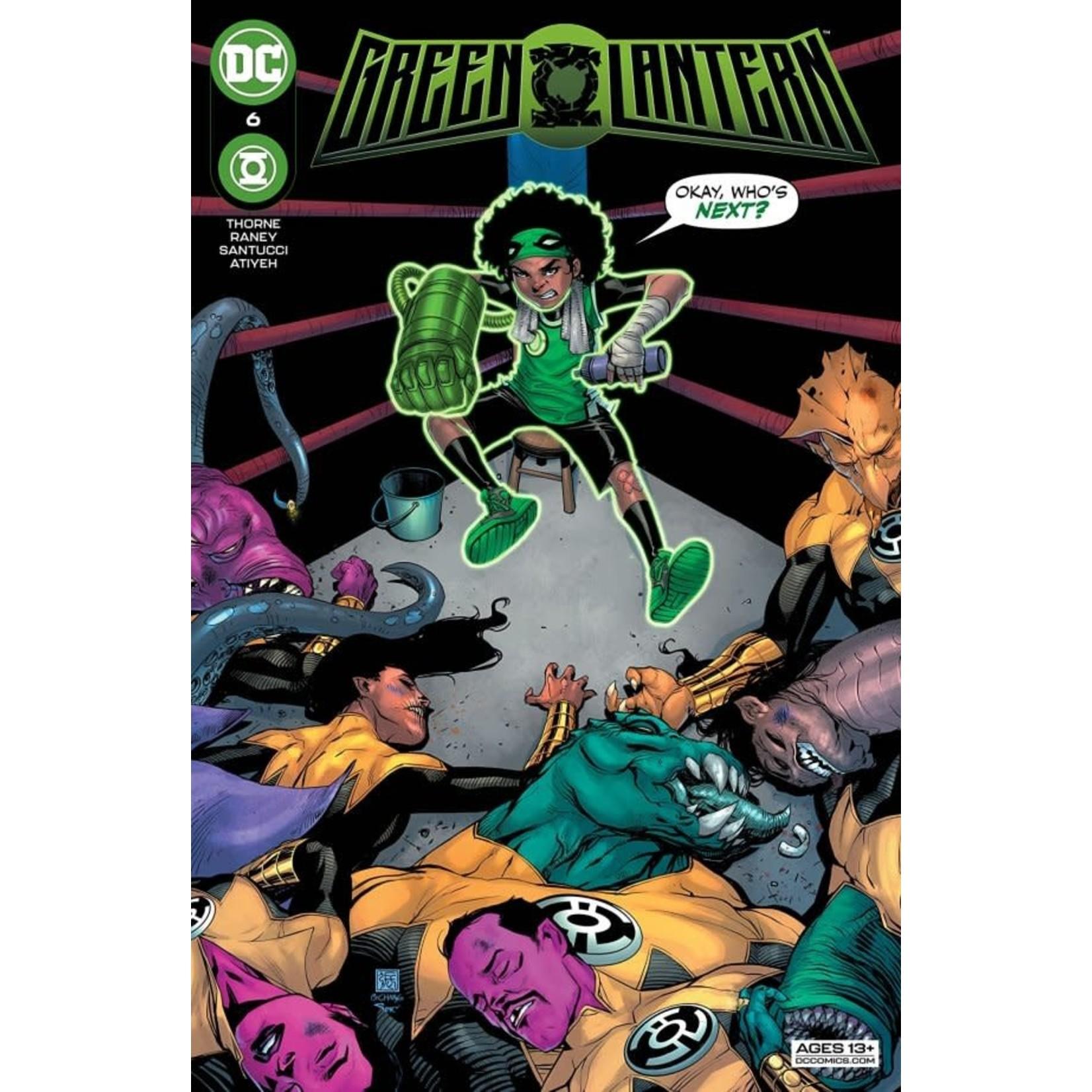 DC Comics Green Lantern #6
