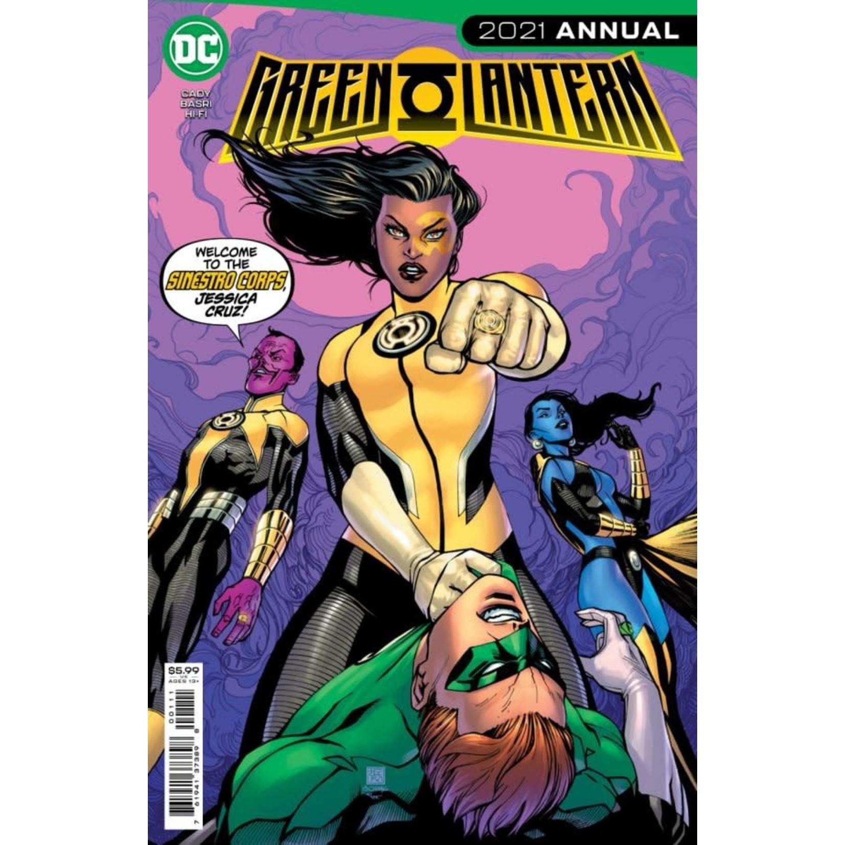 DC Comics Green Lantern 2021 Annual #1