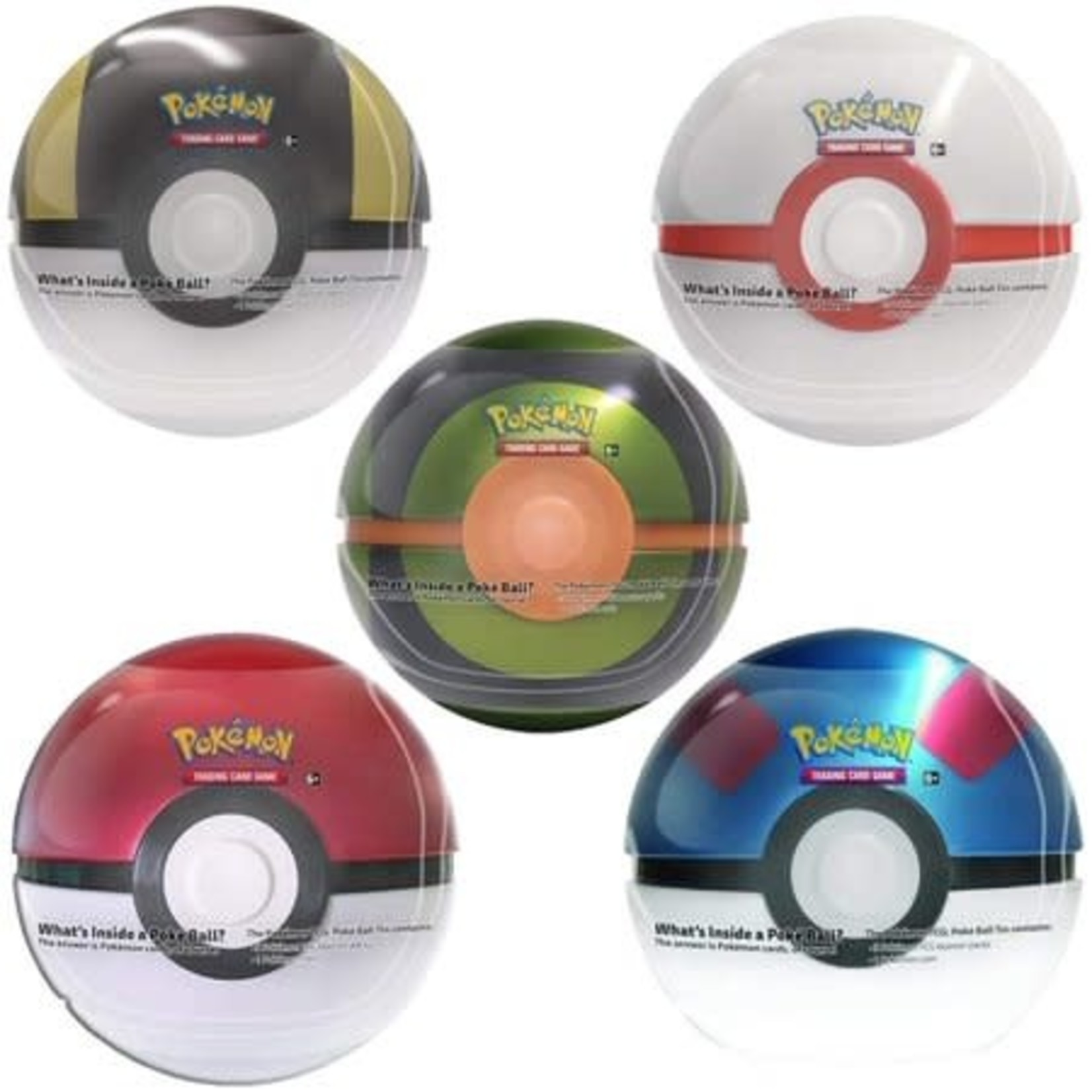 The Pokemon Company Pokebox Poké Ball Tin (Francais)