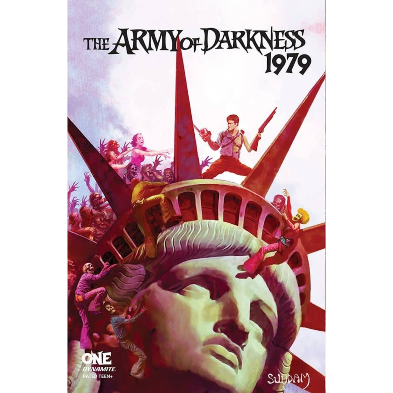 Dynamite Army of Darkness 1979 #1 Cover B Suydam