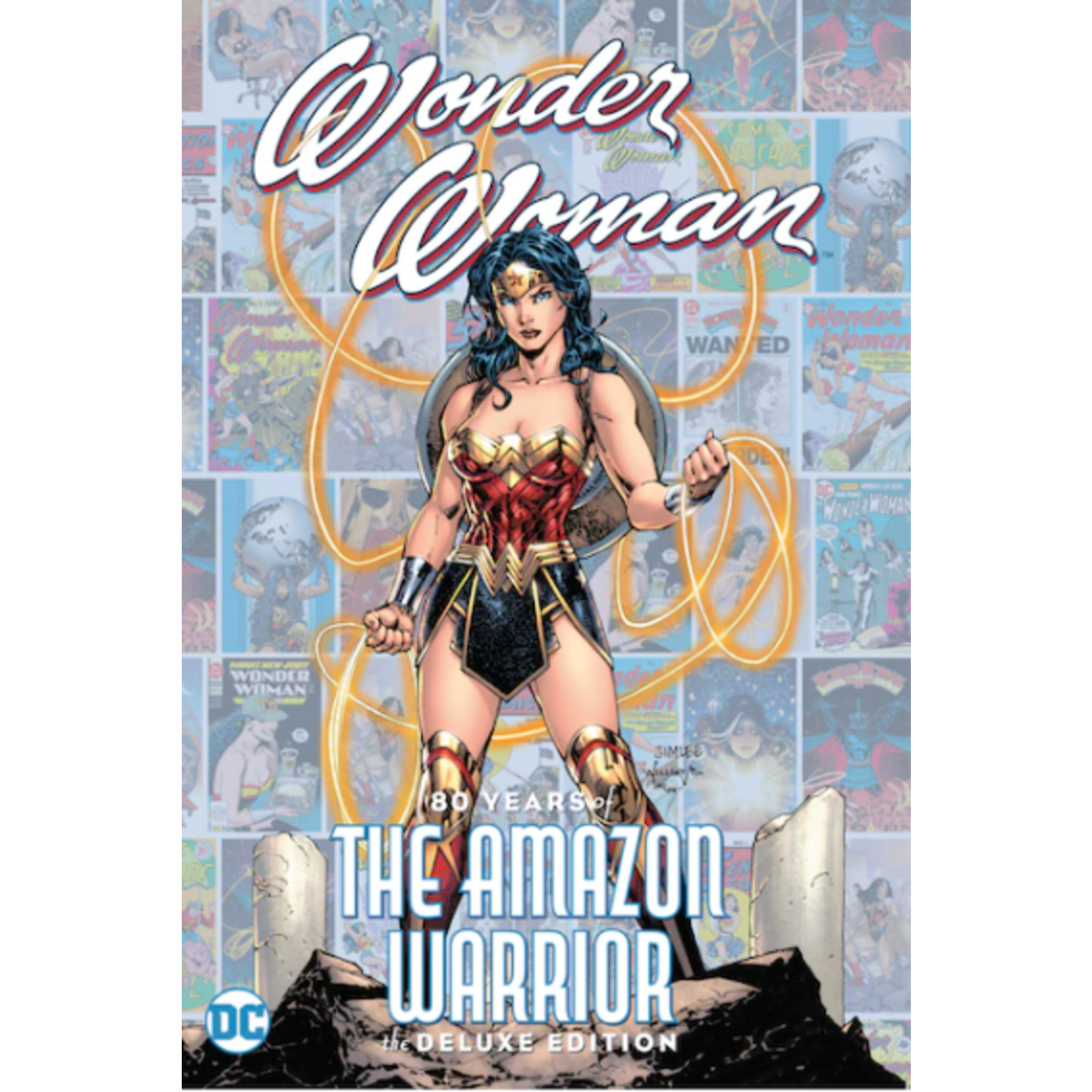 DC Comics Wonder Woman: 80 Years of the Amazon Warrior The Deluxe Edition