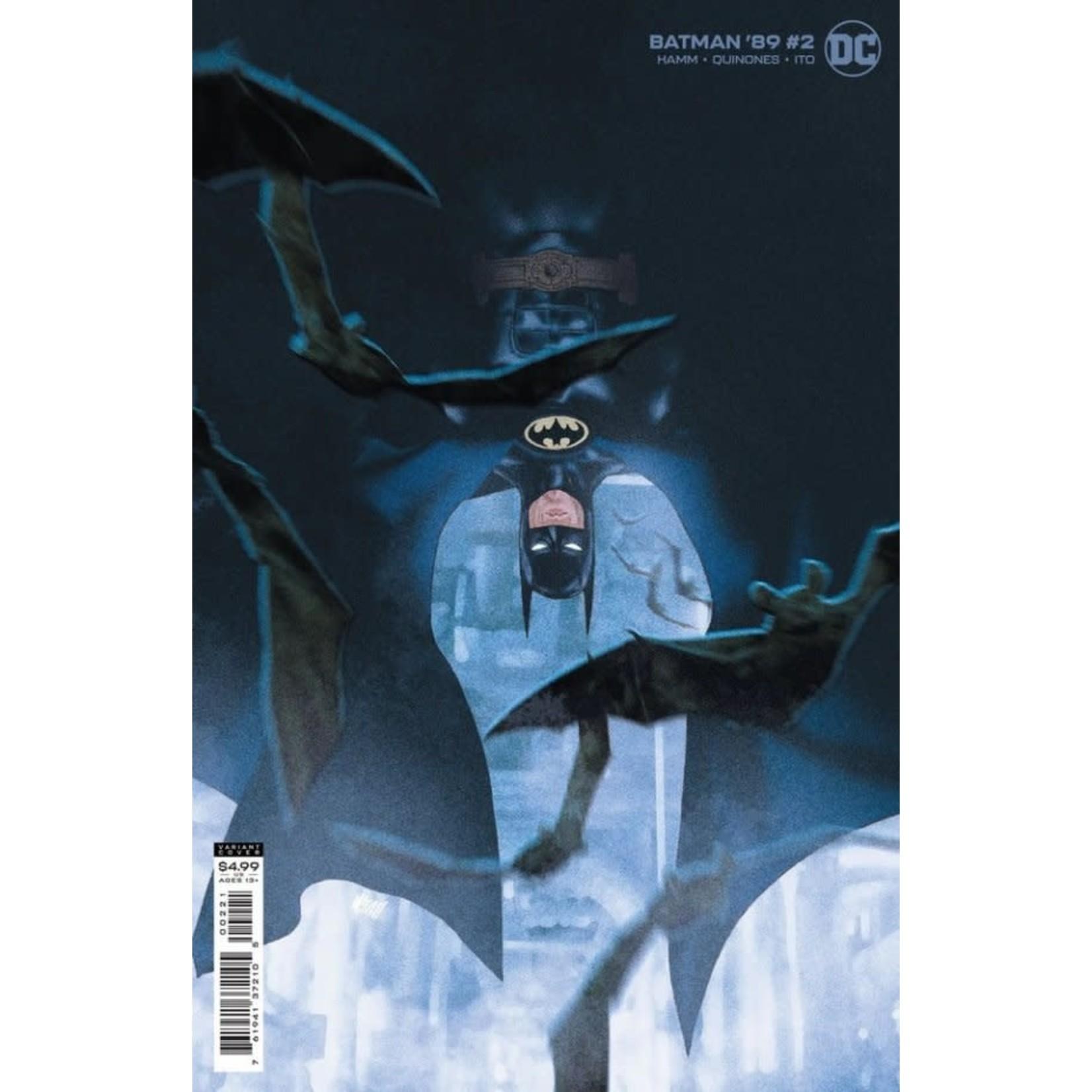 DC Comics Batman '89 #2 Cover B Gerads Card Stock Variant
