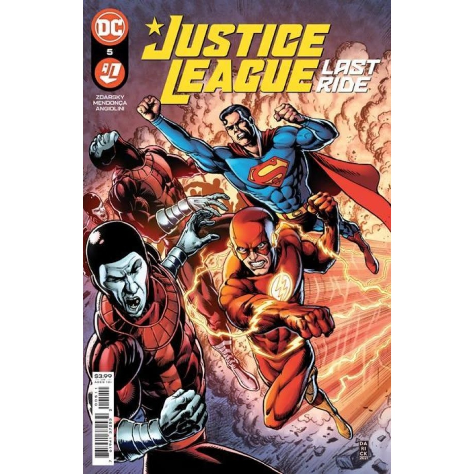 DC Comics Justice League: Last Ride #5