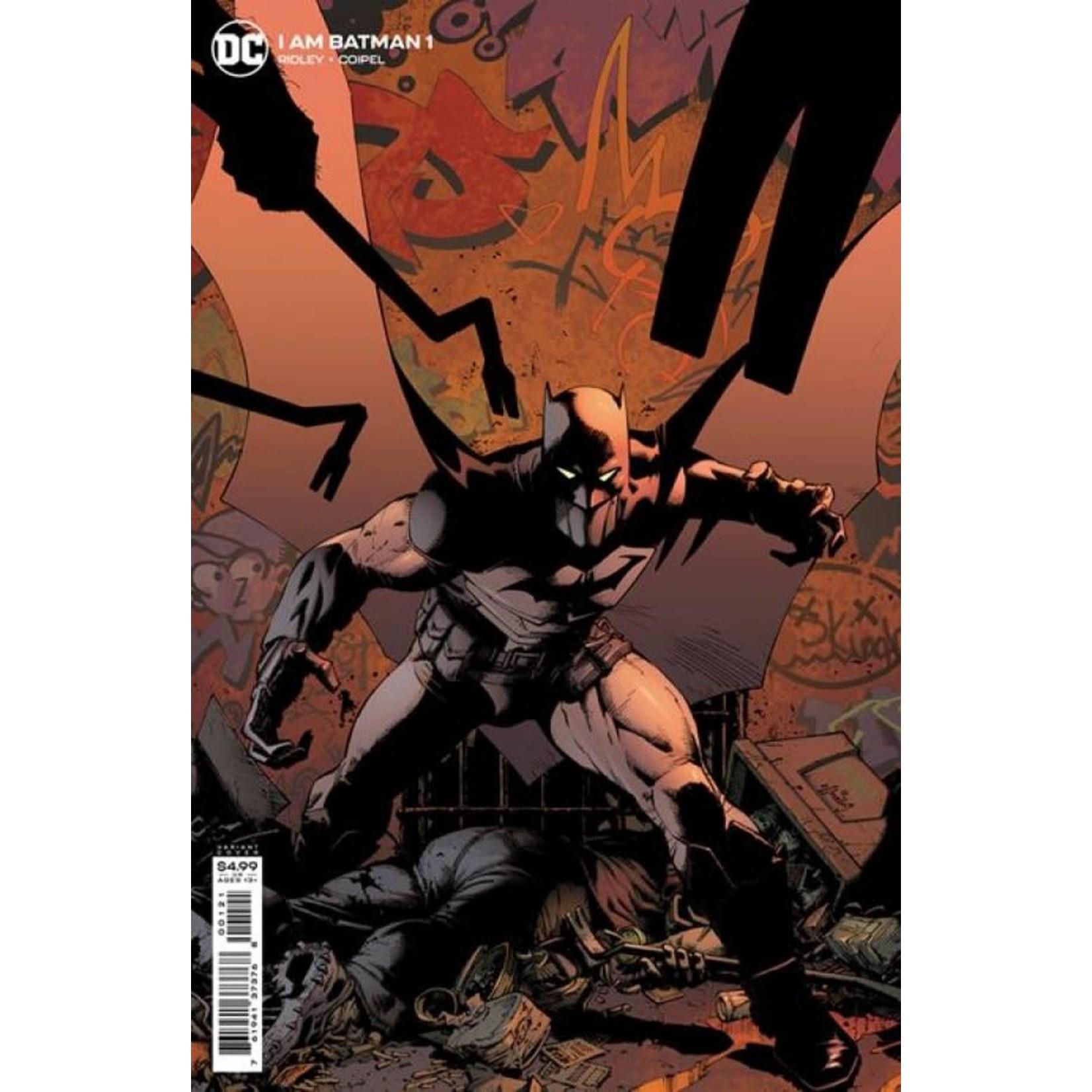 DC Comics I Am Batman #1 Cover B Greg Capullo Card Stock Variant