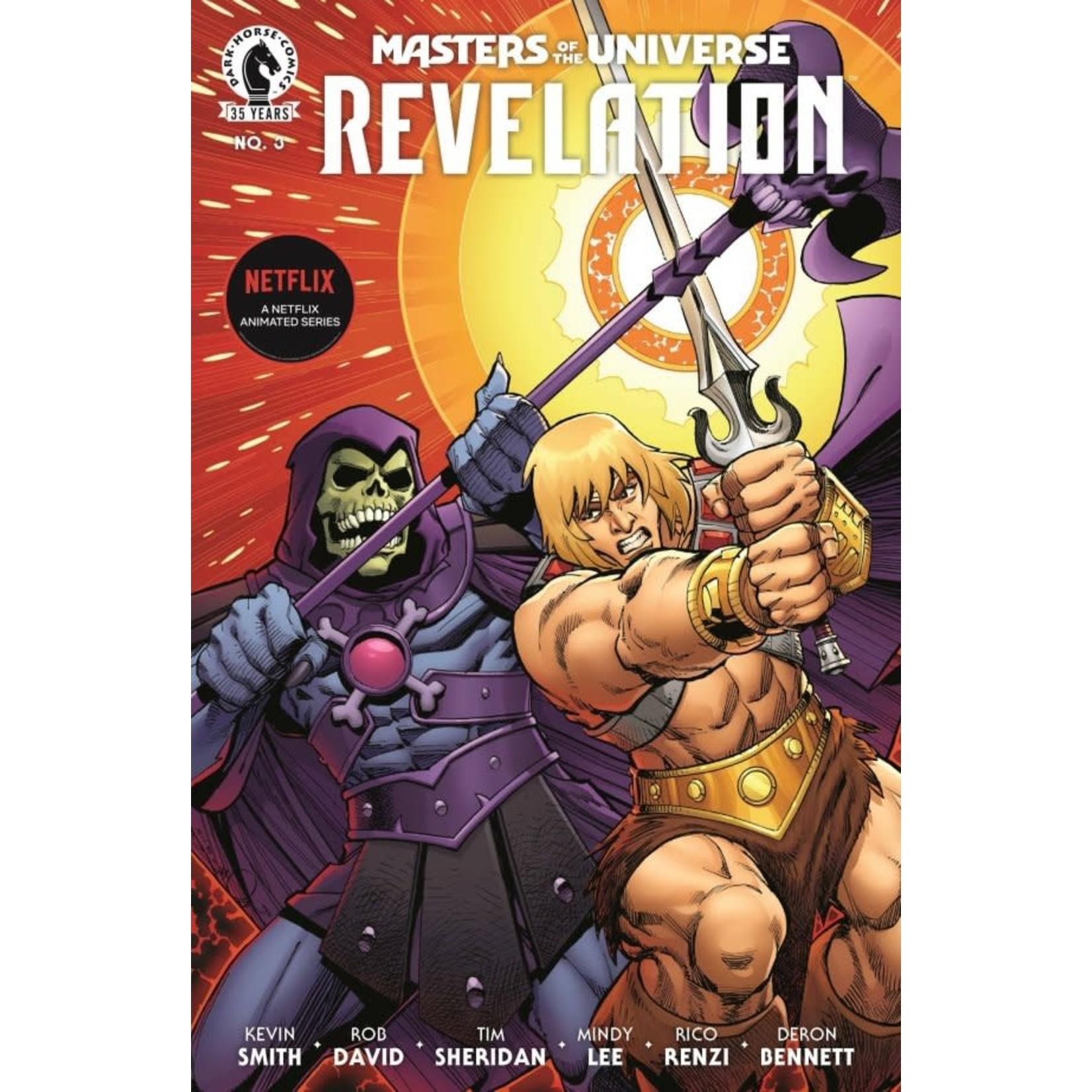 Dark Horse Copy of Master of the universe Revelation #3