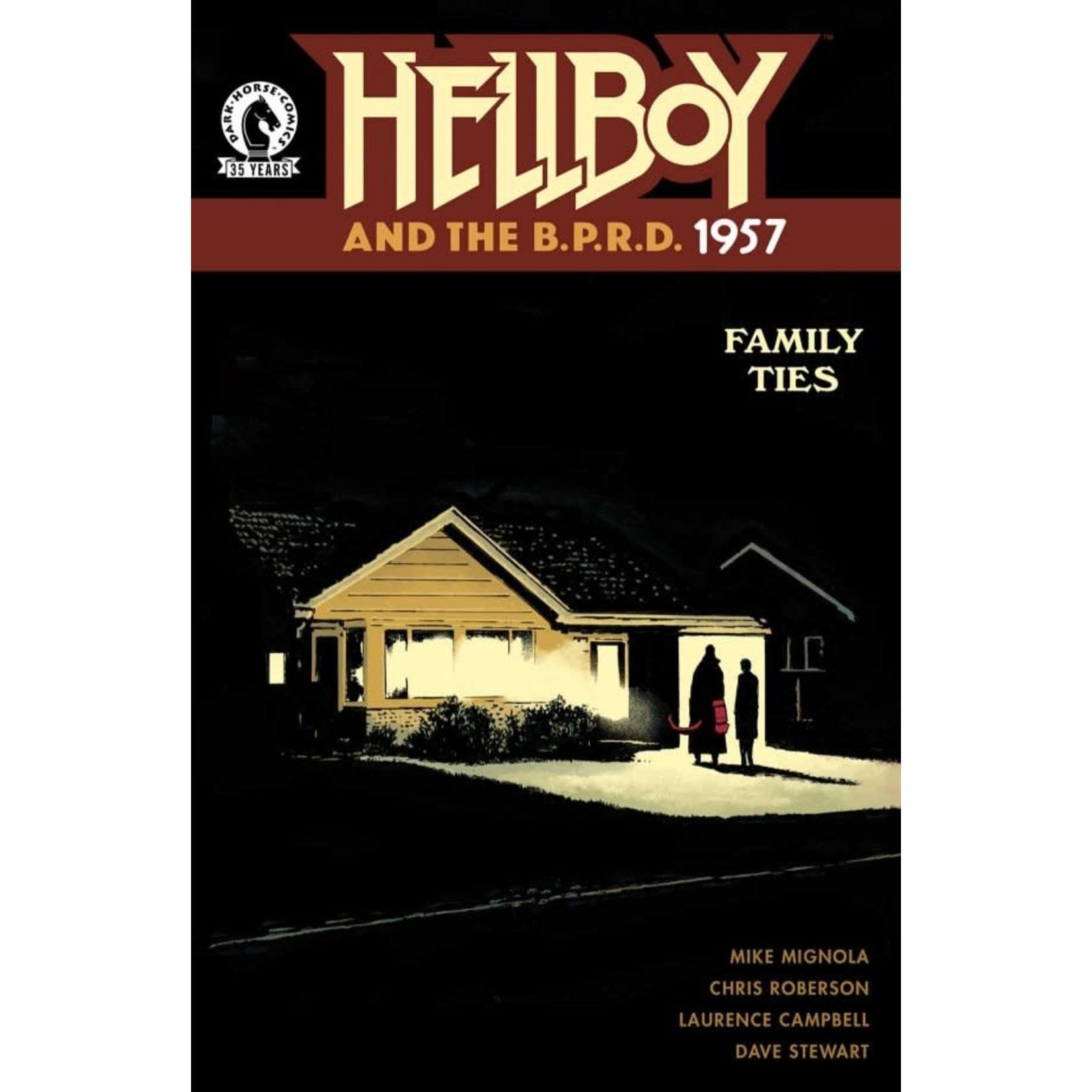 Dark Horse Hellboy and the B.P.R.D.: 1957 - Family Ties #1