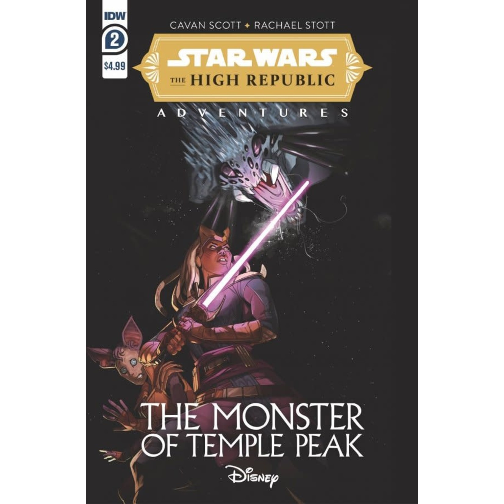 Star Wars: The High Republic Adventures - The Monster of Temple Peak #2
