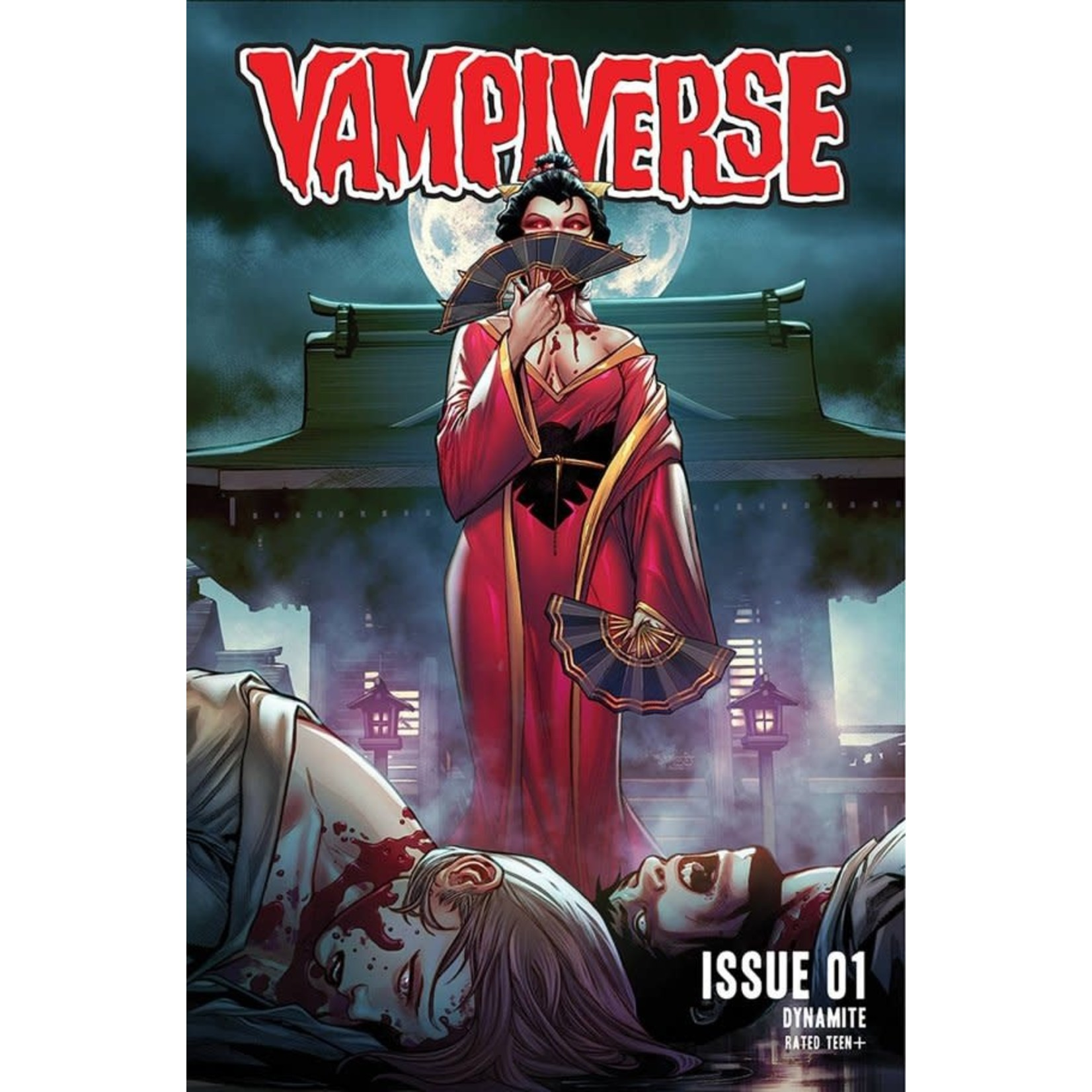Dynamite Copy of Vampiverse #1 Cover D Hetrick