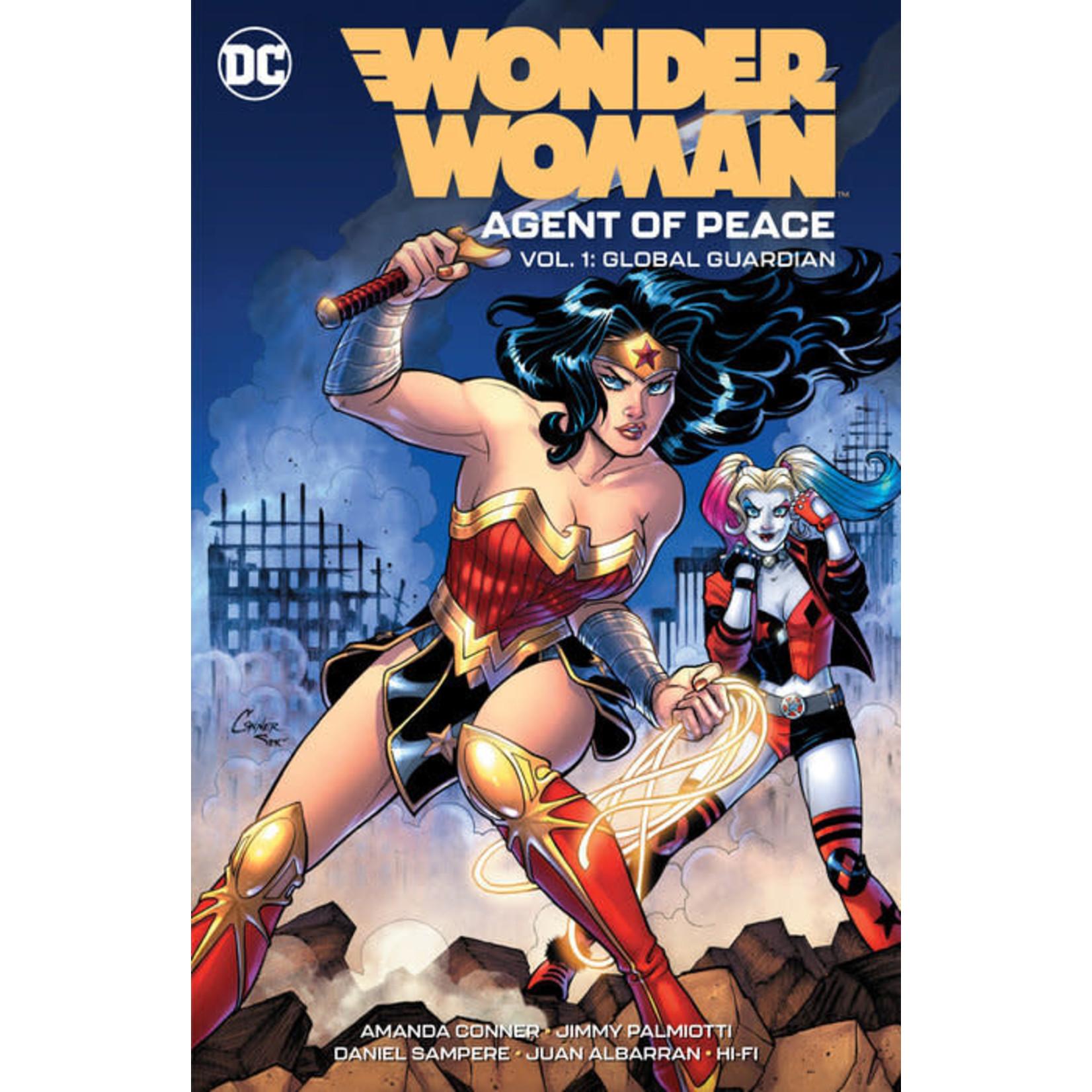 DC Comics Wonder Woman: Agent of Peace Vol. 1: Global Guardian