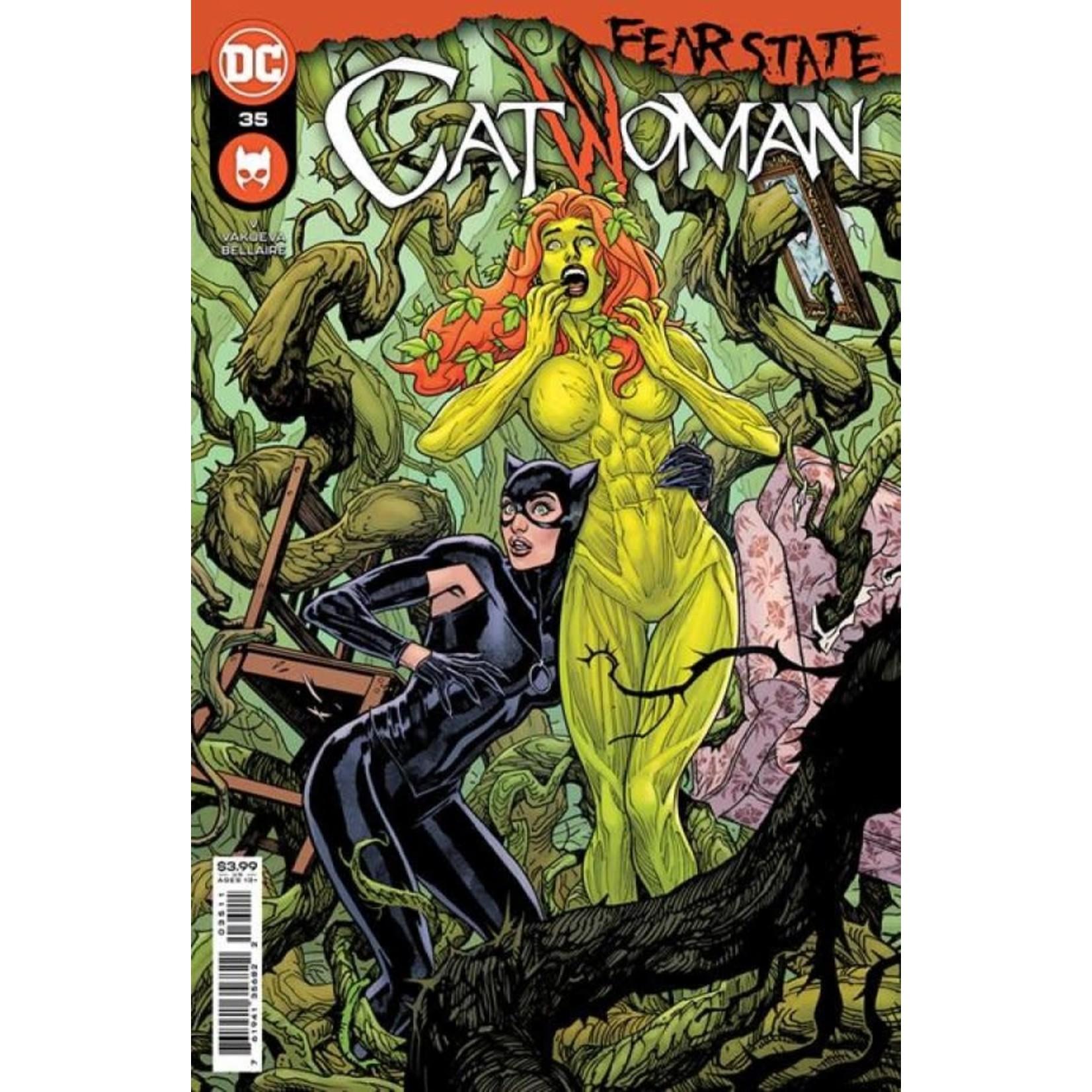 DC Comics Catwoman #35