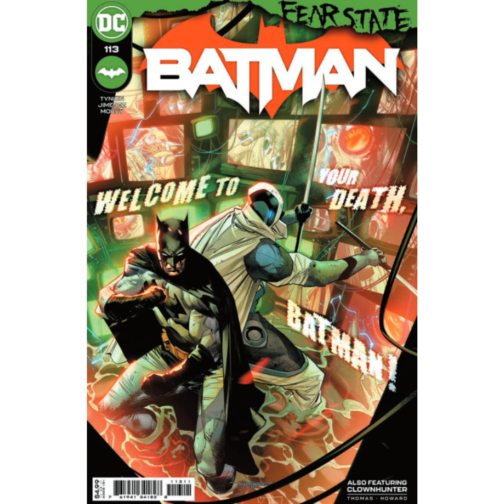 DC Comics Batman #113