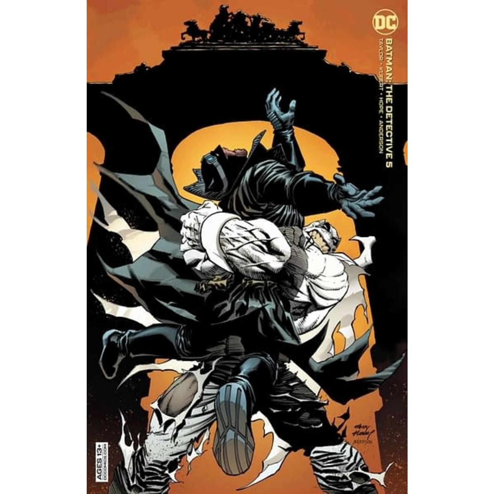 DC Comics Batman: The Detective #5 Cover B Kubert Card Stock Variant