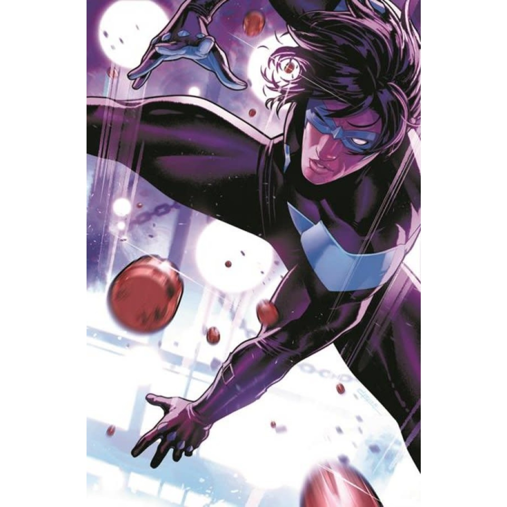 DC Comics Nightwing #84 Cover B Jamal Campbell Card Stock Variant