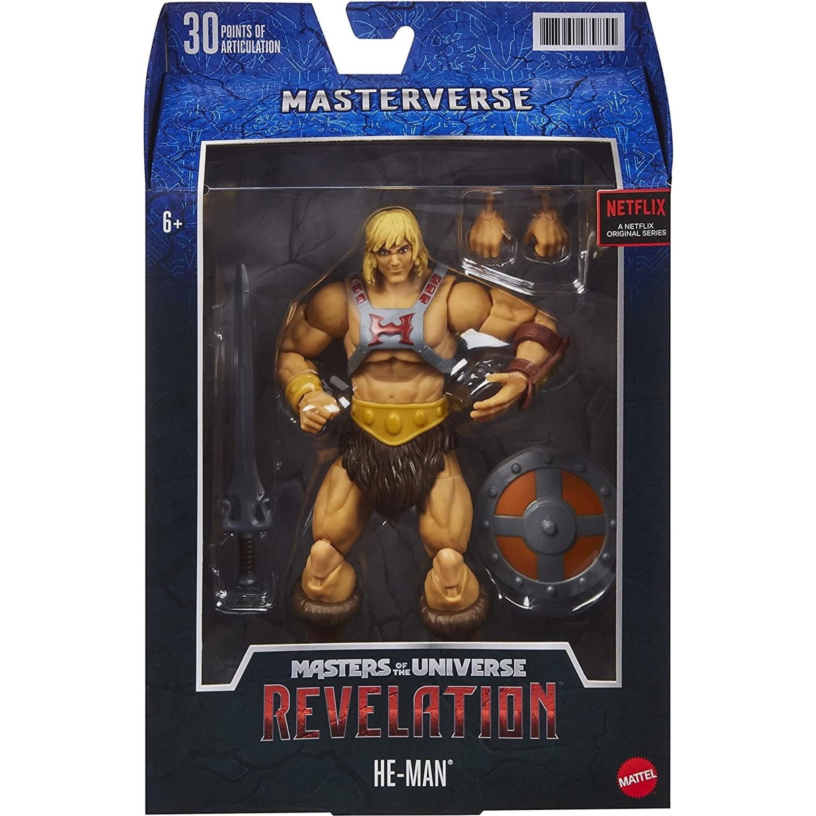 Mattel Masters of the Universe Masterverse Revelation He-Man Action Figure