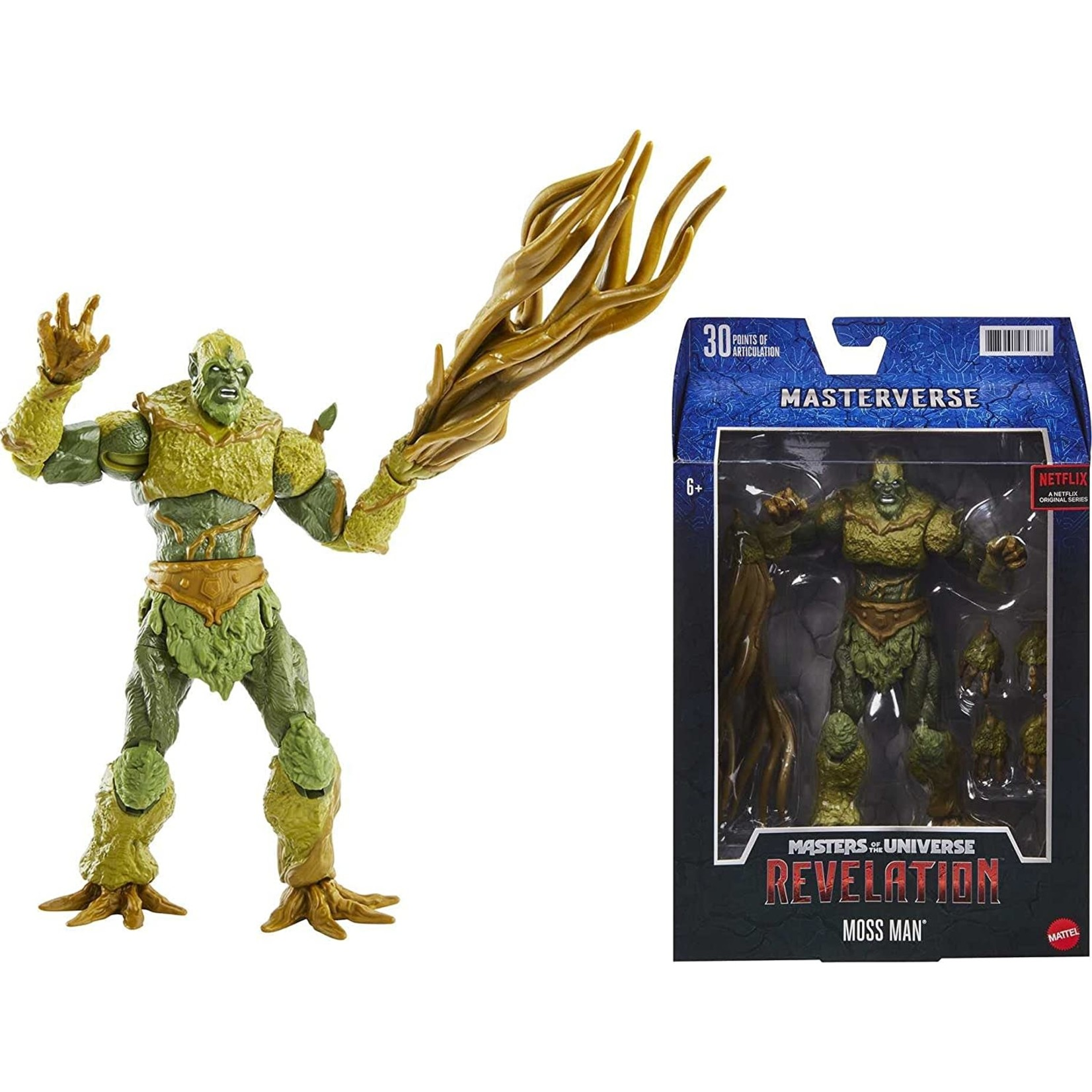 Mattel Masters of the Universe Masterverse Revelation Moss Man Action Figure