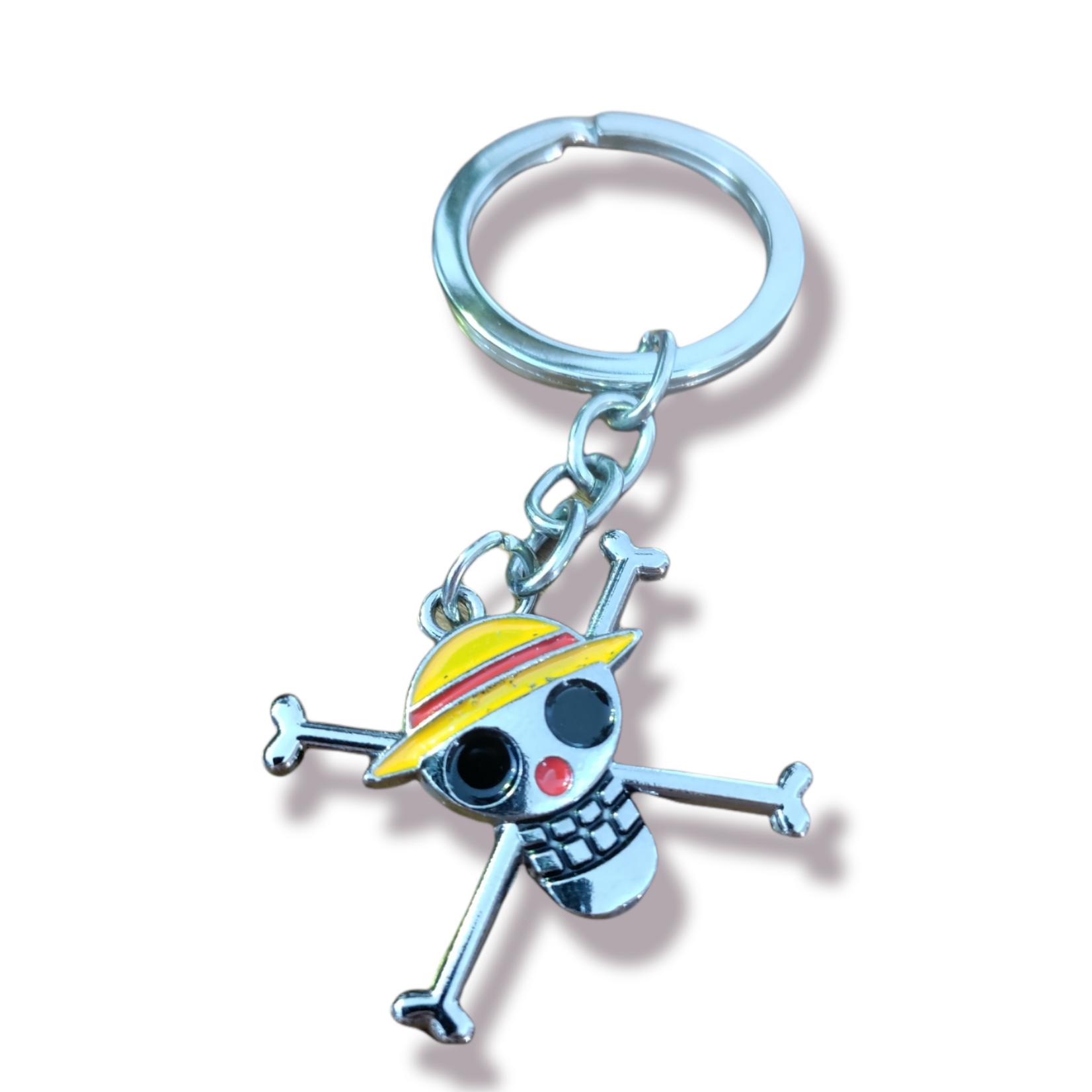 ONE PIECE Keychain - Luffy Logo