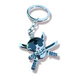 ONE PIECE Keychain - Zoro Logo