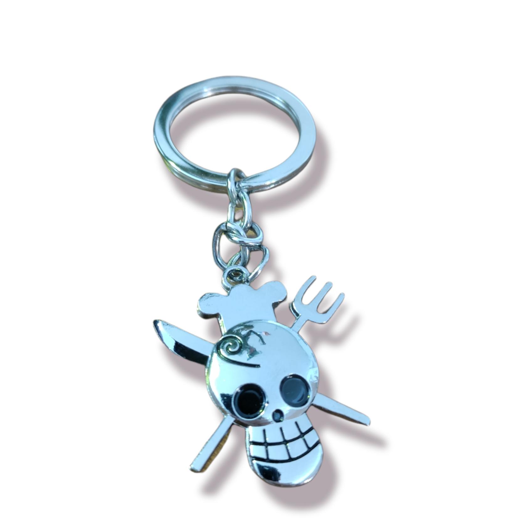 ONE PIECE Keychain - Sanji Logo
