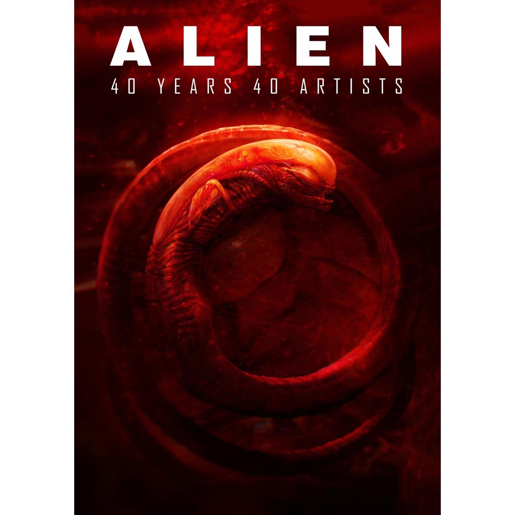 Titan Books Alien: 40 Years 40 Artists