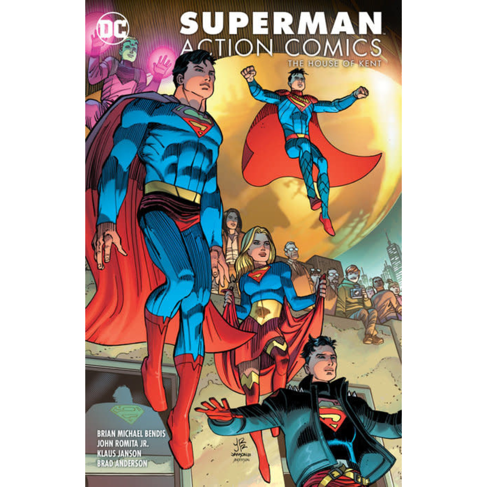 DC Comics Superman Action Comics Volume 5 : THE HOUSE OF KENT