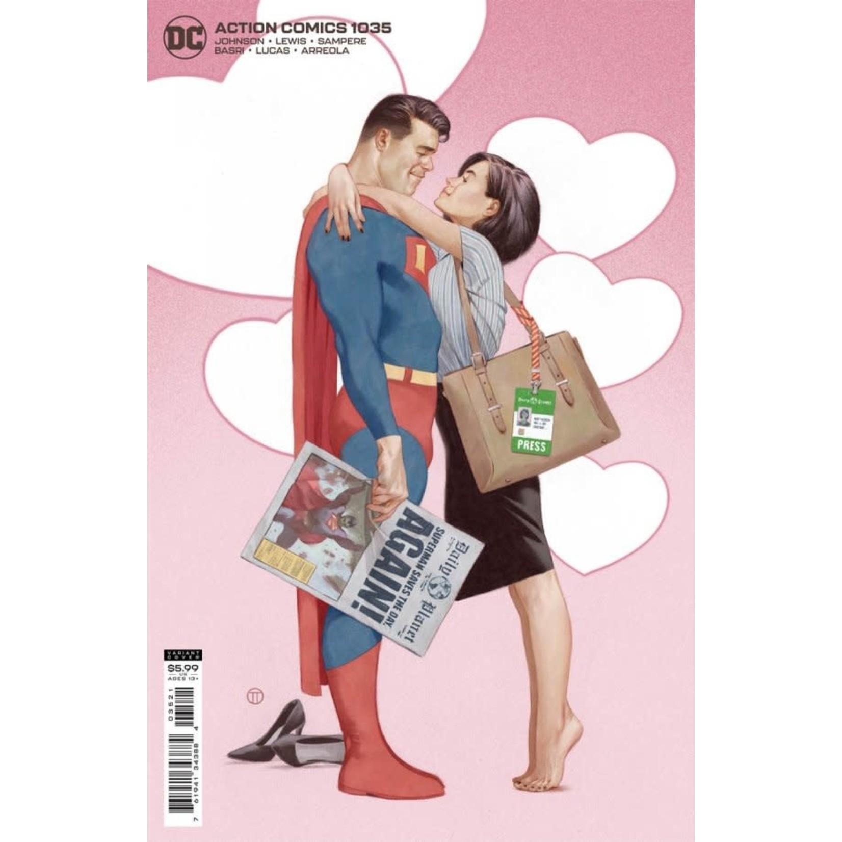 DC Comics Action Comics #1035 Card Stock Variant Cover