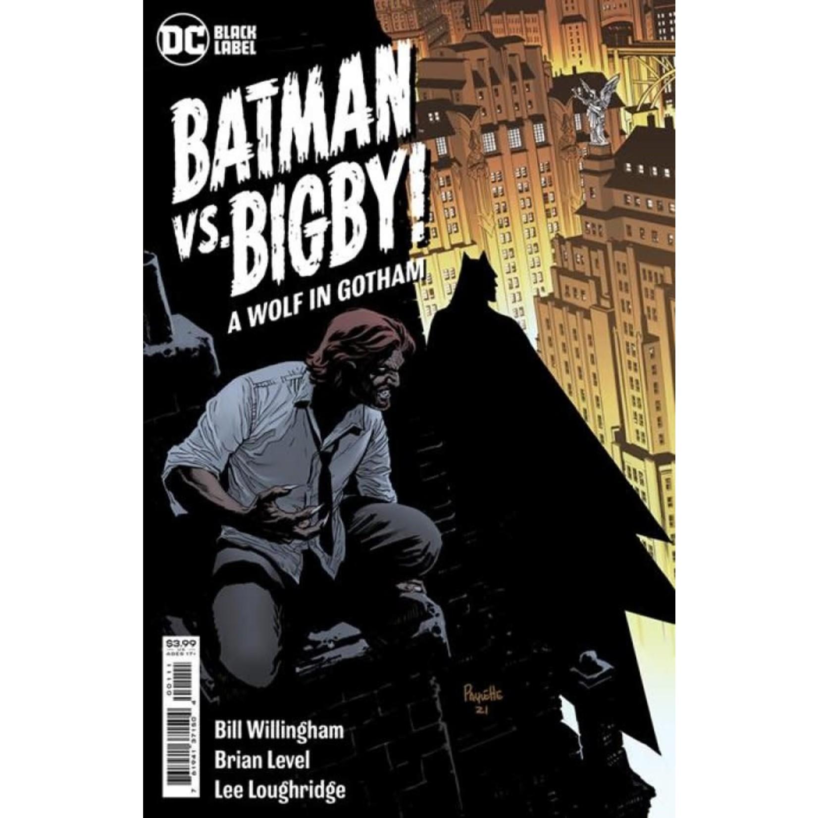 DC Comics Batman vs. Bigby! A Wolf in Gotham #1