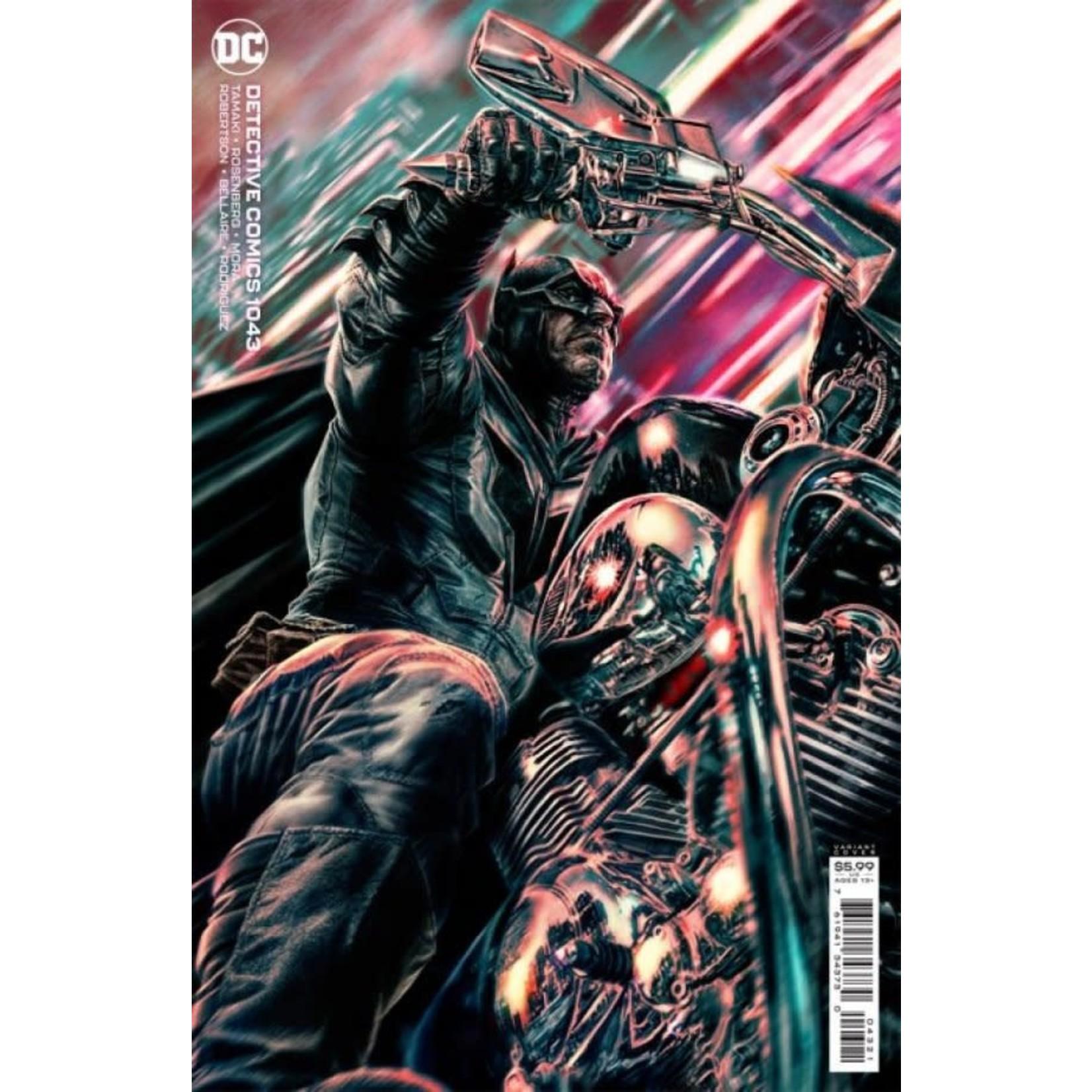 DC Comics Detective Comics #1043 Cover B Bermejo Card Stock Variant